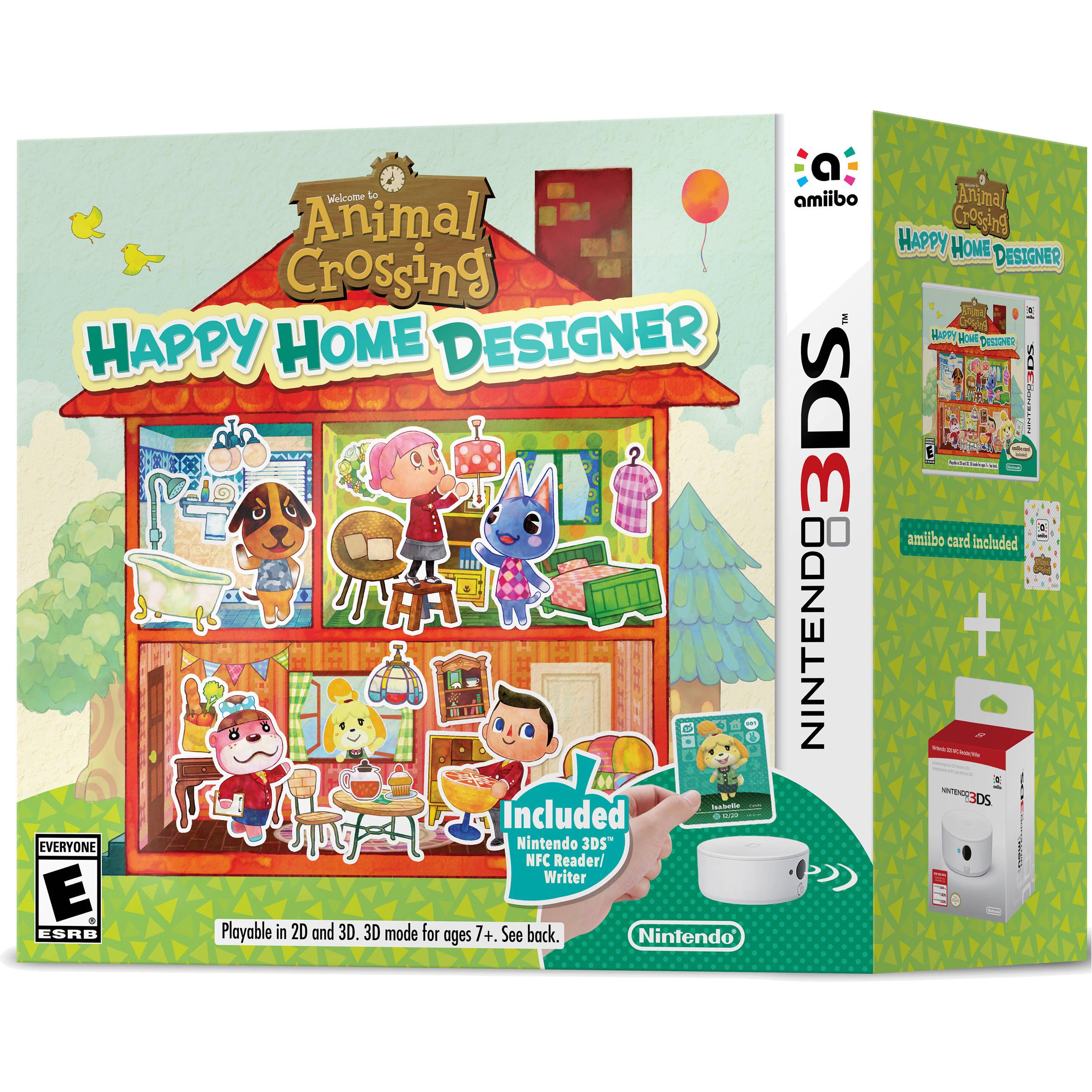 Nintendo Animal Crossing: Happy Home Designer with NFC Reader/Writer  (Nintendo 3DS)