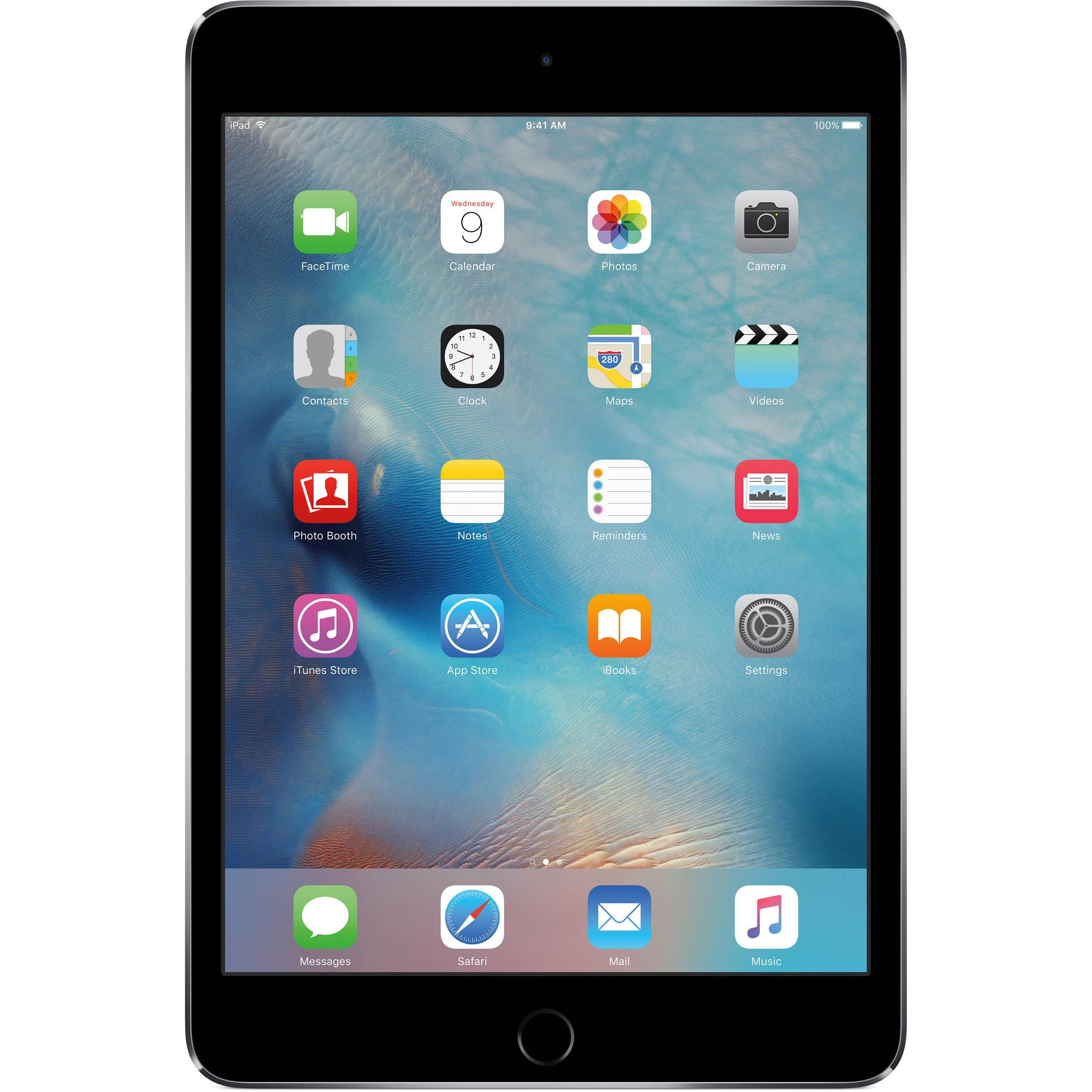 """Apple iPad Mini 4 Generation 16GB 7.9/"""" Retina Display Wi-Fi Only Model Tablet"""