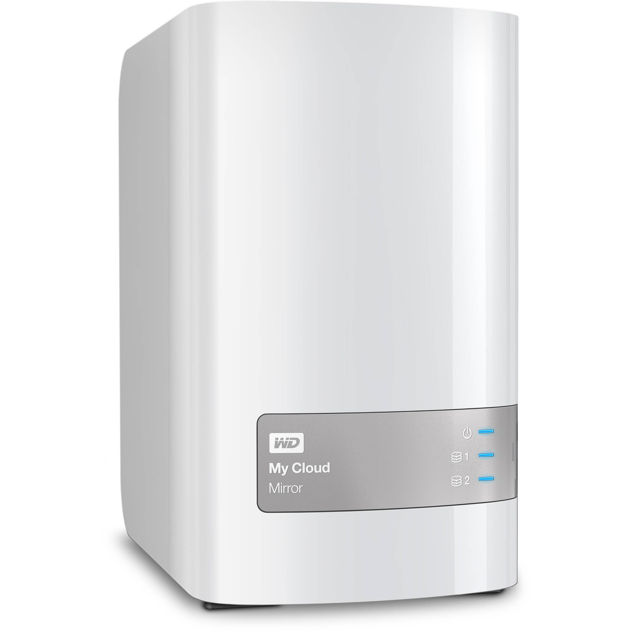 WD My Cloud Mirror (Gen 2) 8TB 2-Bay NAS Server (2 x 4TB)