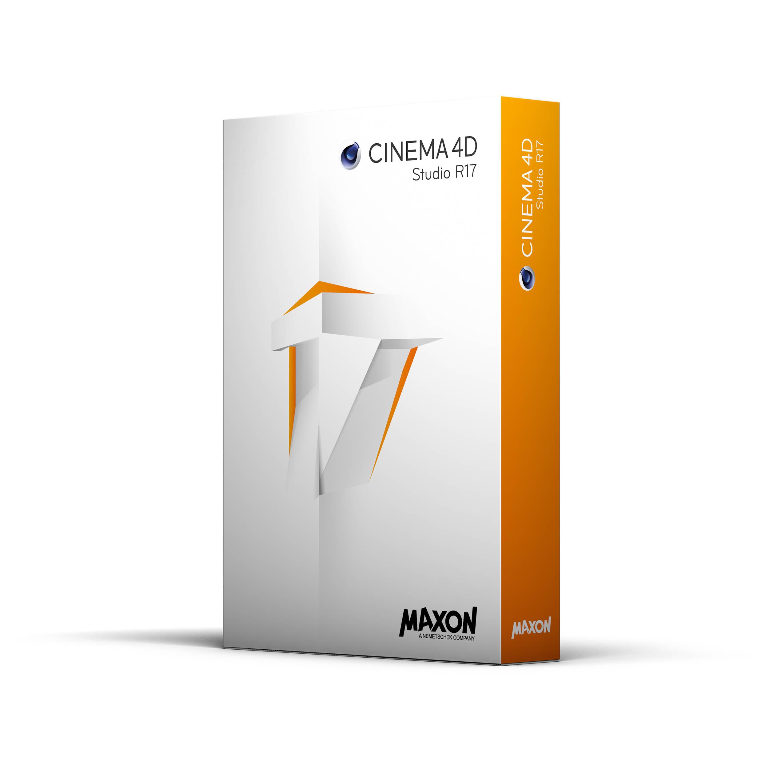Buy Maxon Cinema 4D Studio R17 mac os