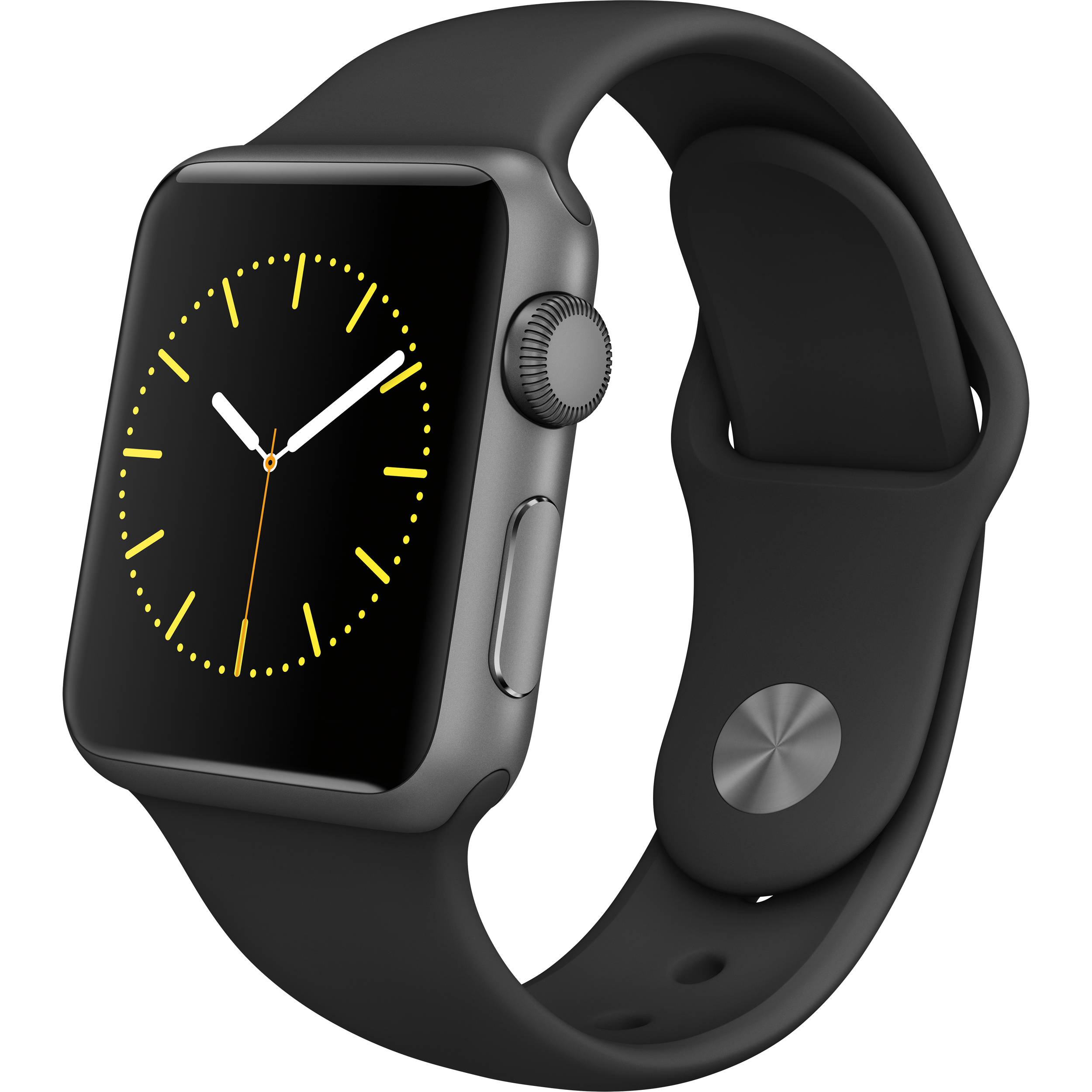 best service 98a8d d9d2a Apple Watch Sport 38mm Smartwatch (2015, Space Gray Aluminum Case, Black  Sport Band)