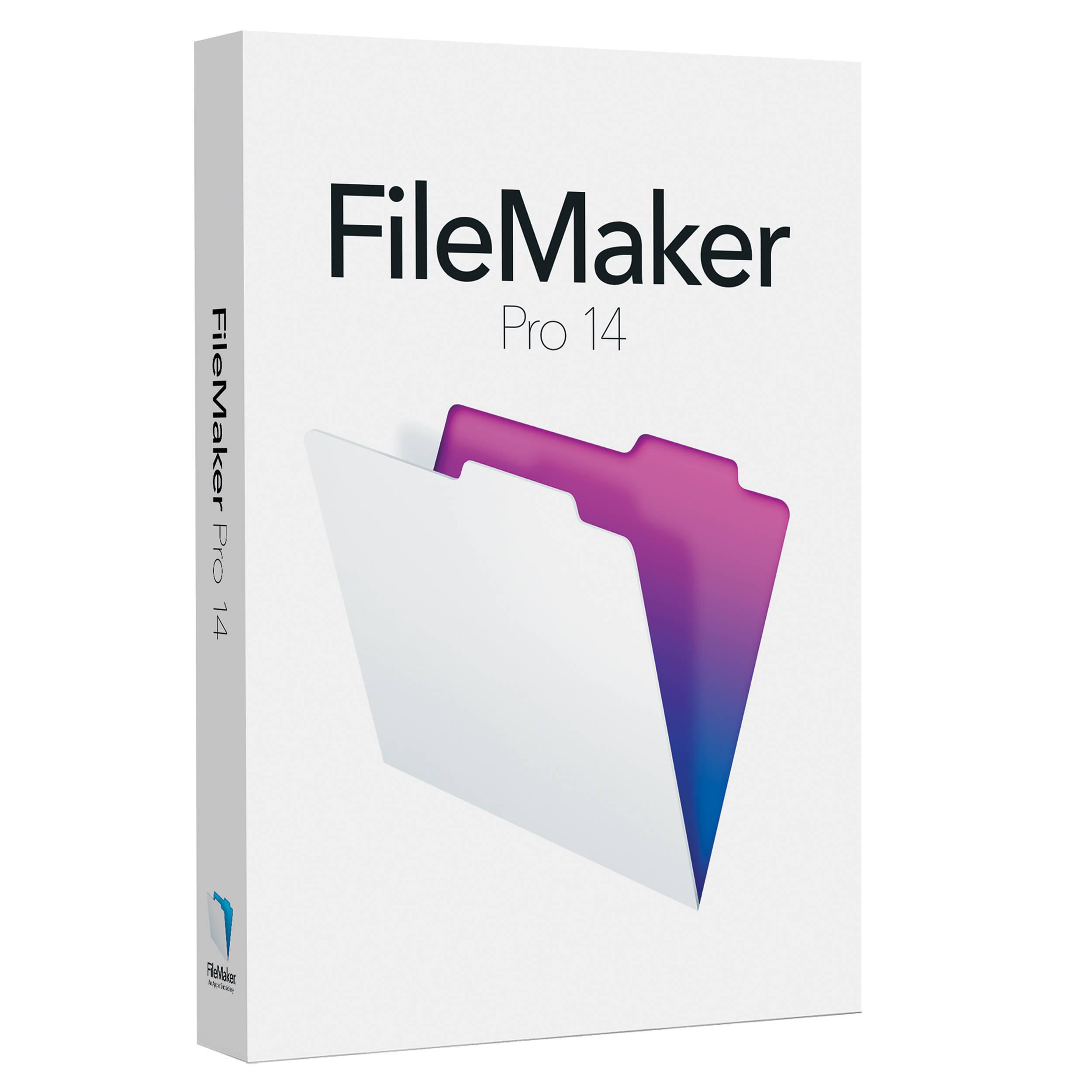 FileMaker Pro 14 (Upgrade Edition)