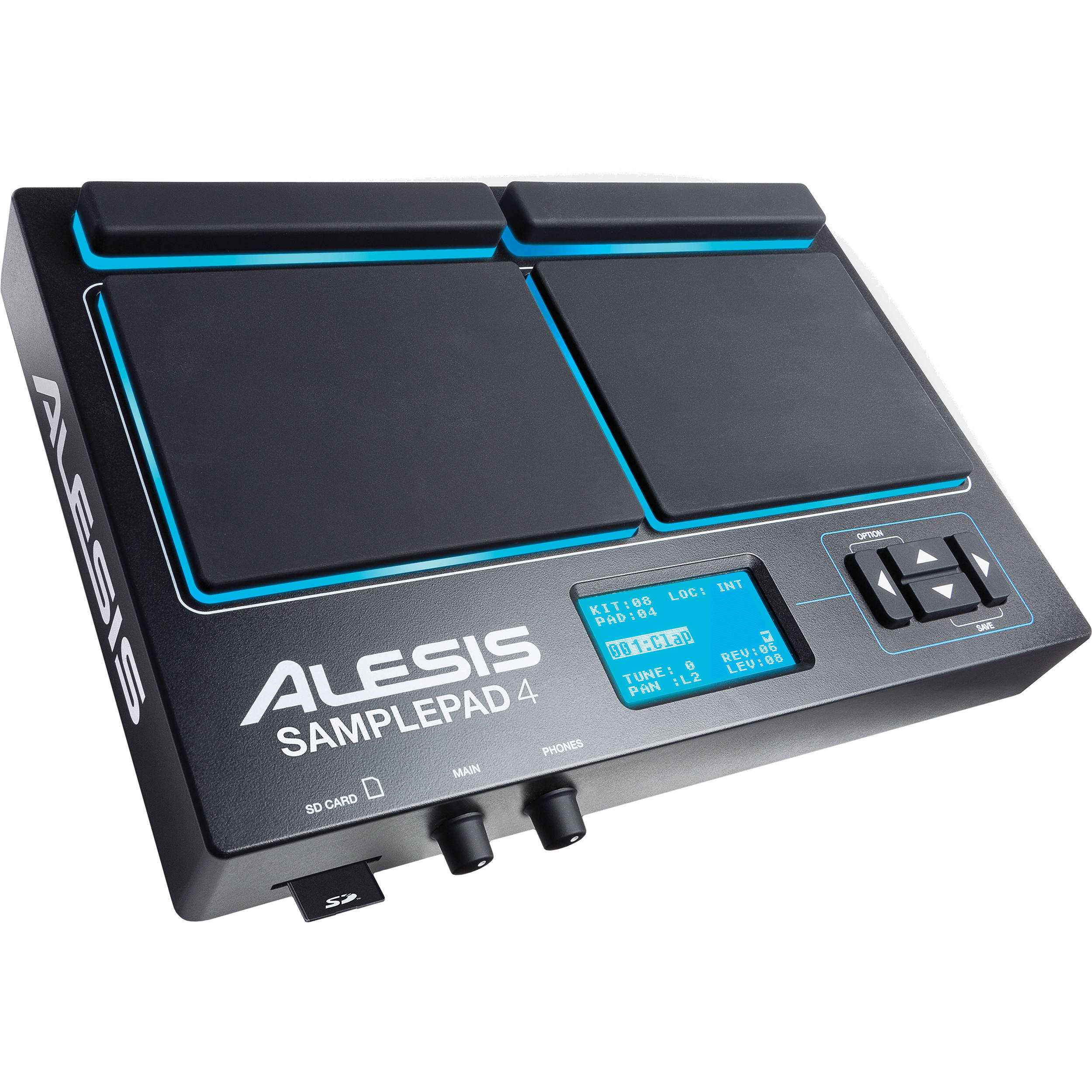 Alesis SamplePad 4, Four-Pad Percussion and Sample-Triggering Instrument