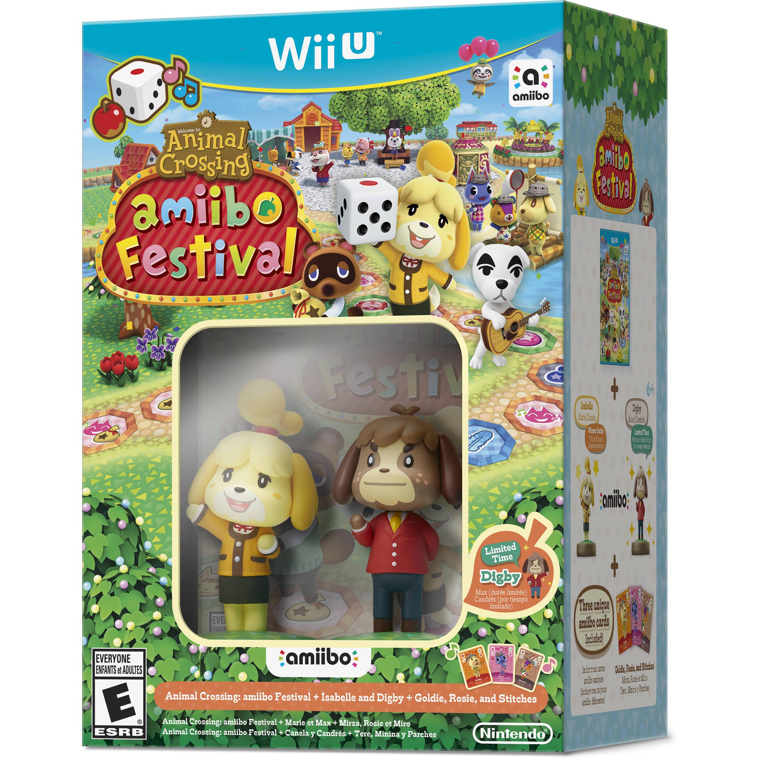 Nintendo Animal Crossing Amiibo Festival Wii U