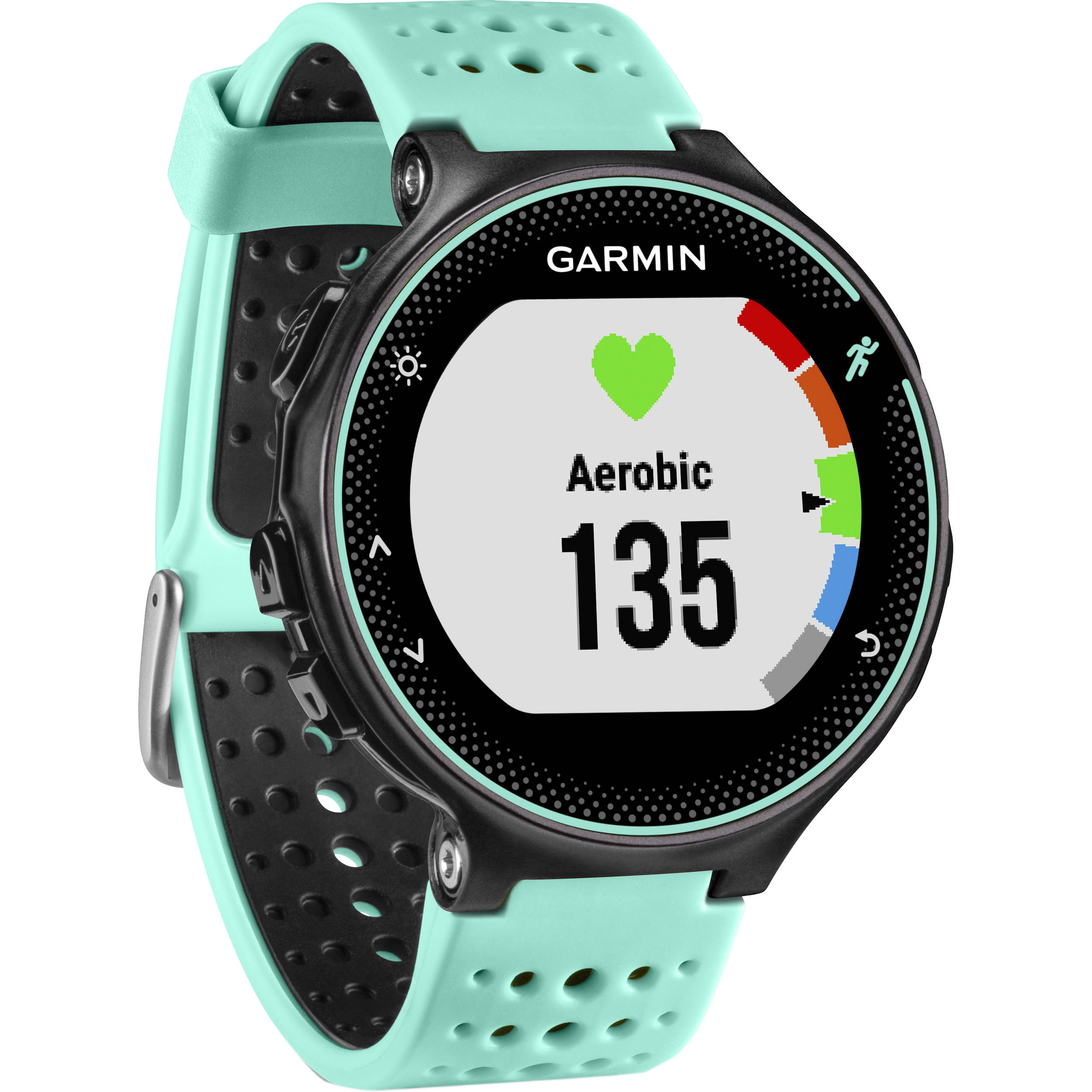 Garmin Gps Watch >> Garmin Forerunner 235 Gps Running Watch With Wrist Based Heart Rate Frost Blue