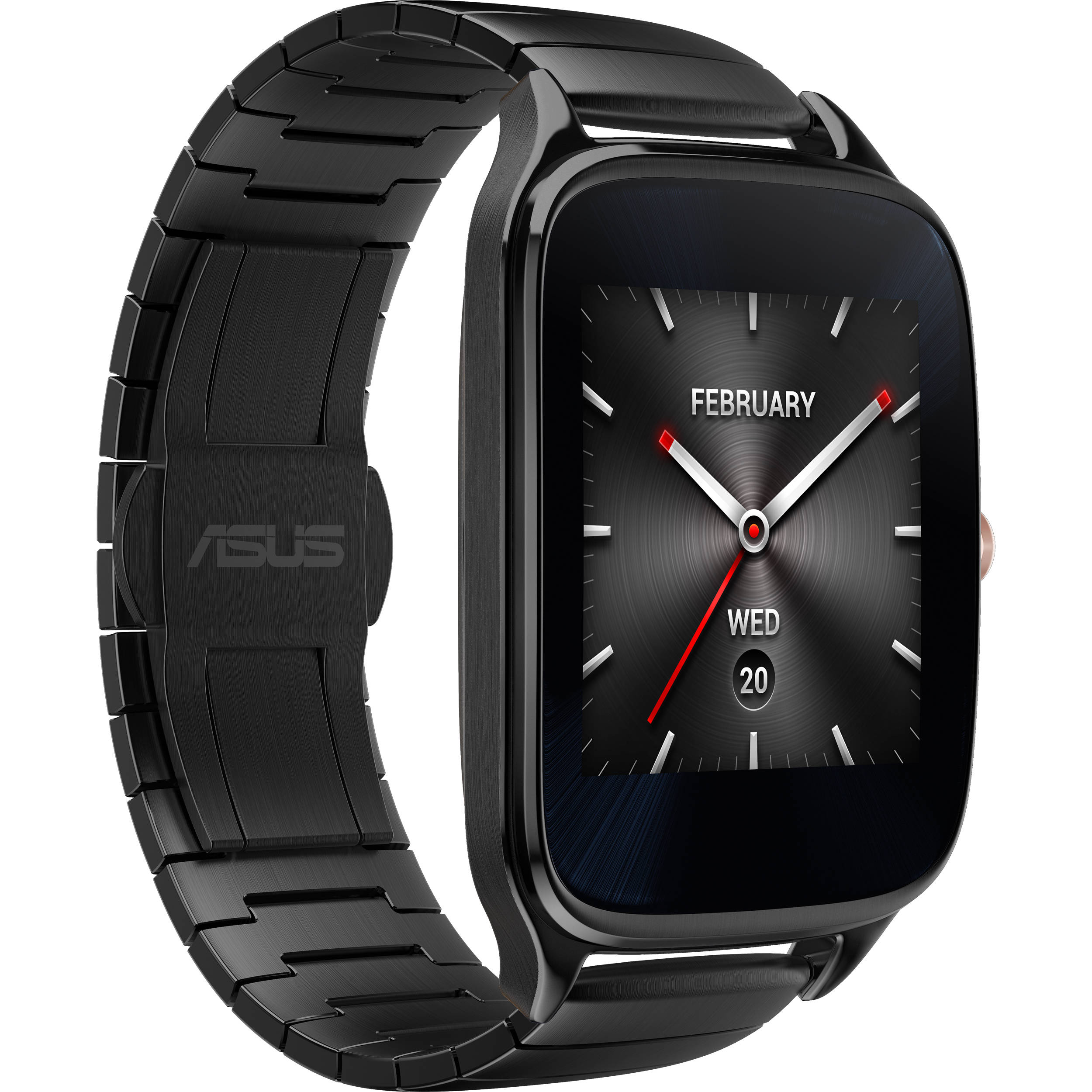 822b7ed13 ASUS ZenWatch 2 Android Wear Smartwatch WI501Q-GM-GR B&H Photo