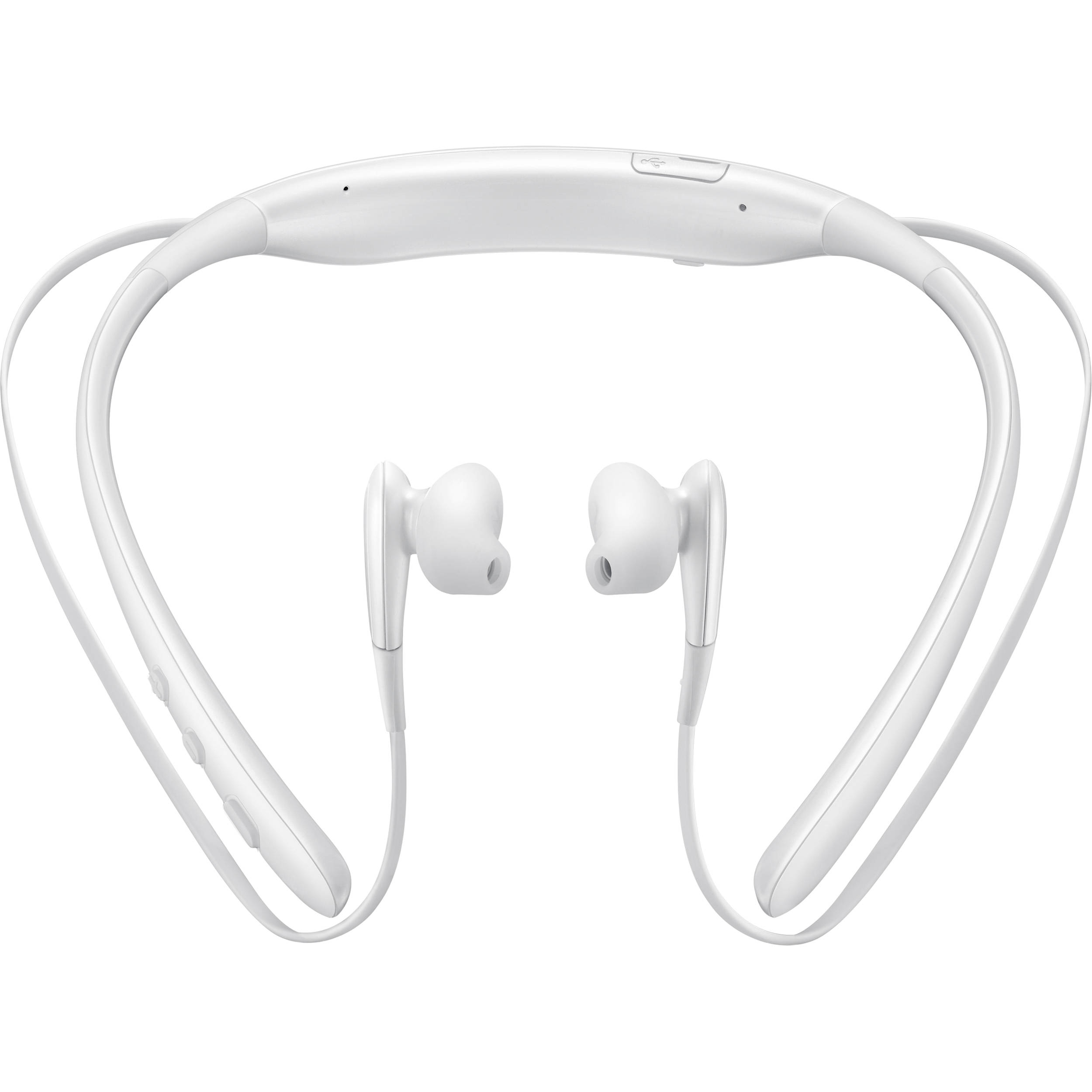 Samsung Level U Wireless Bluetooth Headphones Eo Bg920bwebus B H