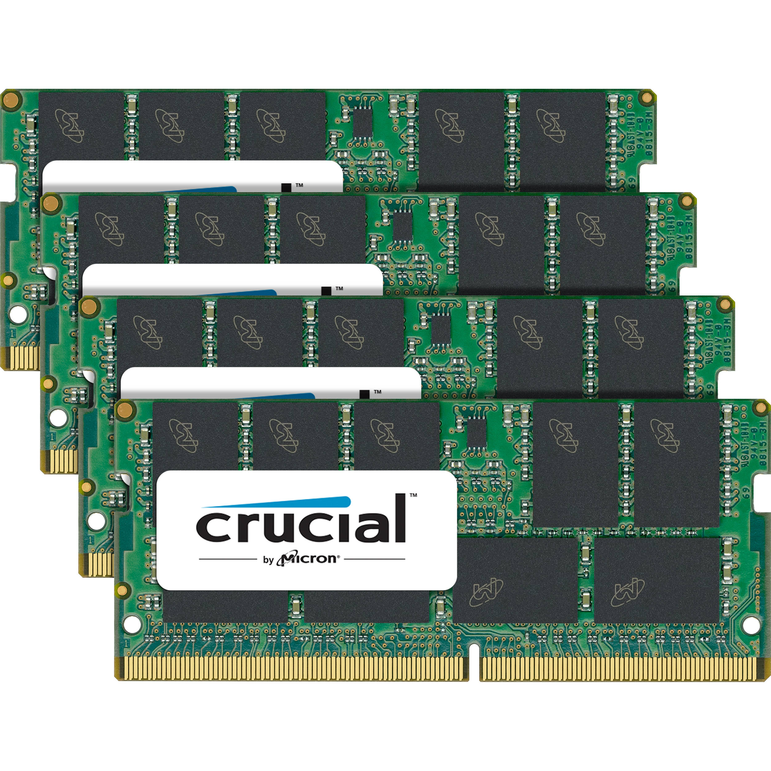 Crucial 64GB DDR4 2400 MHz SO-DIMM Memory Kit (4 x 16GB)