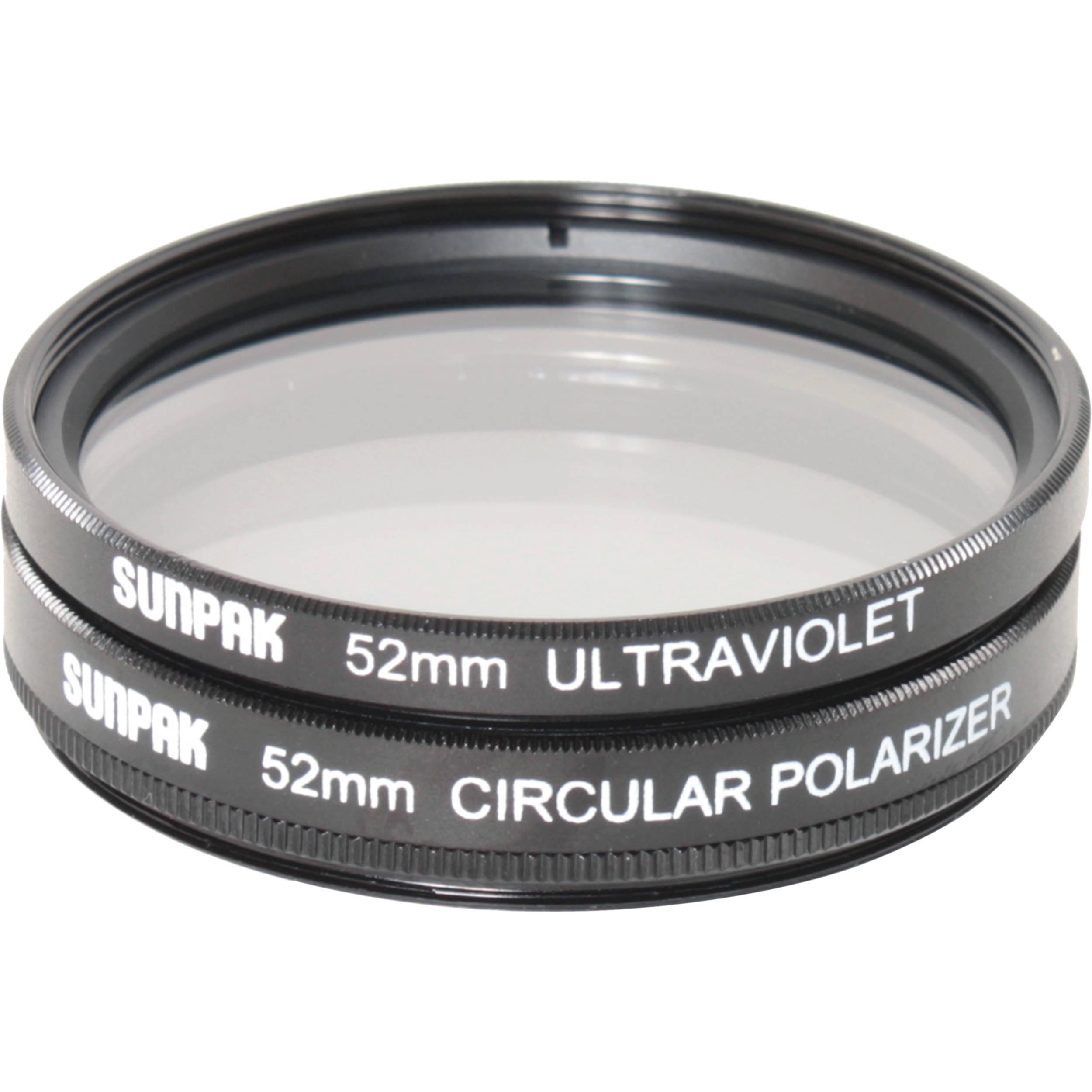 Sunpak Circular 52mm Polarized Filter