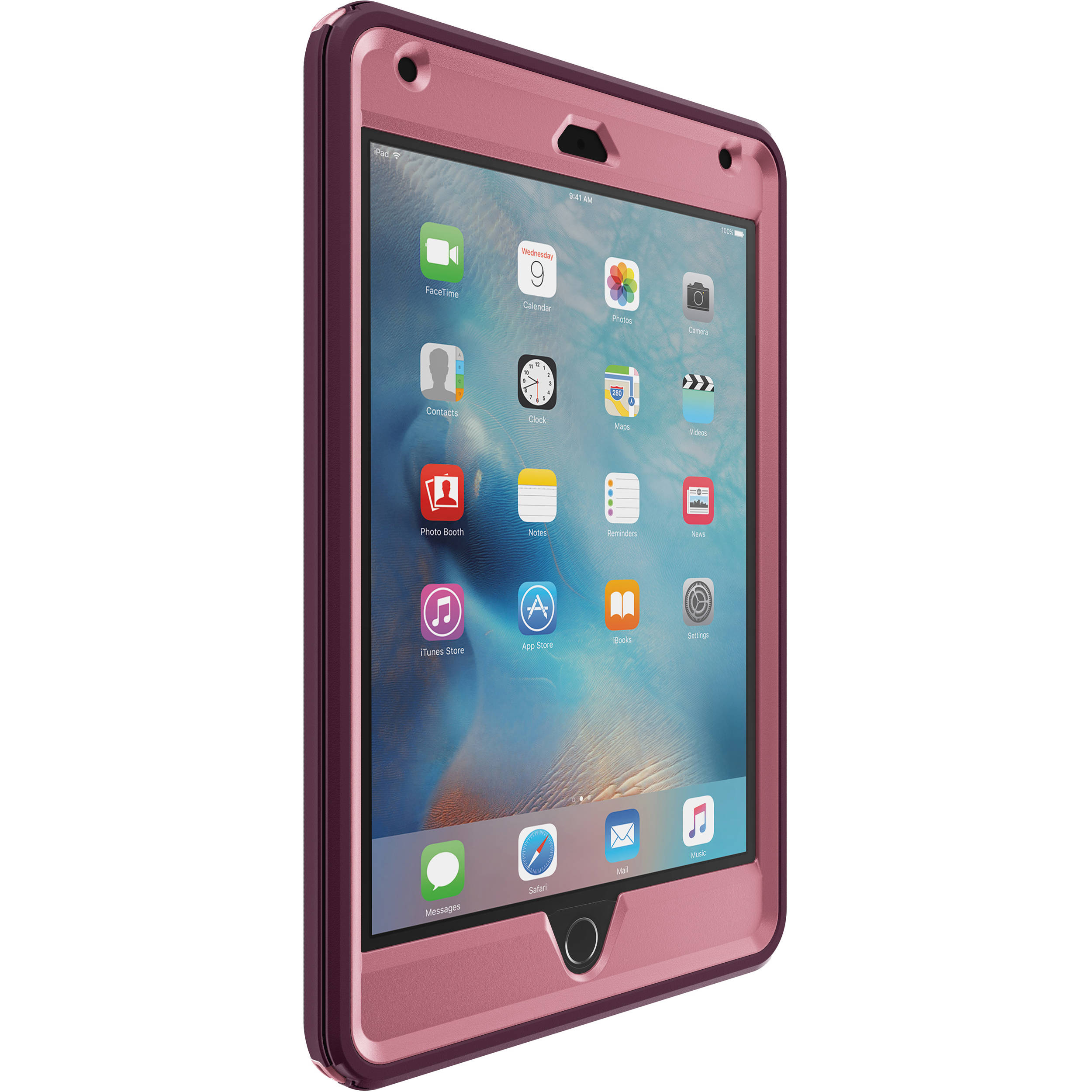 best service 1a024 db2b4 OtterBox iPad mini 4 Defender Series Case (Very Berry)