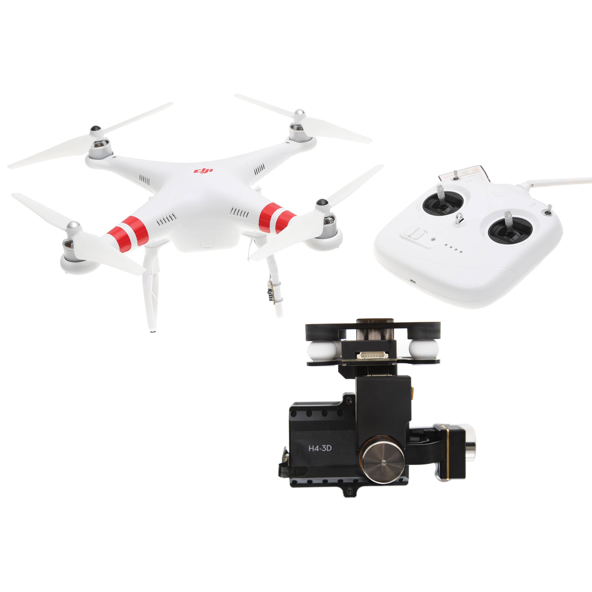 DJI Phantom 2 Quadcopter v2 0 with Zenmuse H4-3D Gimbal Kit