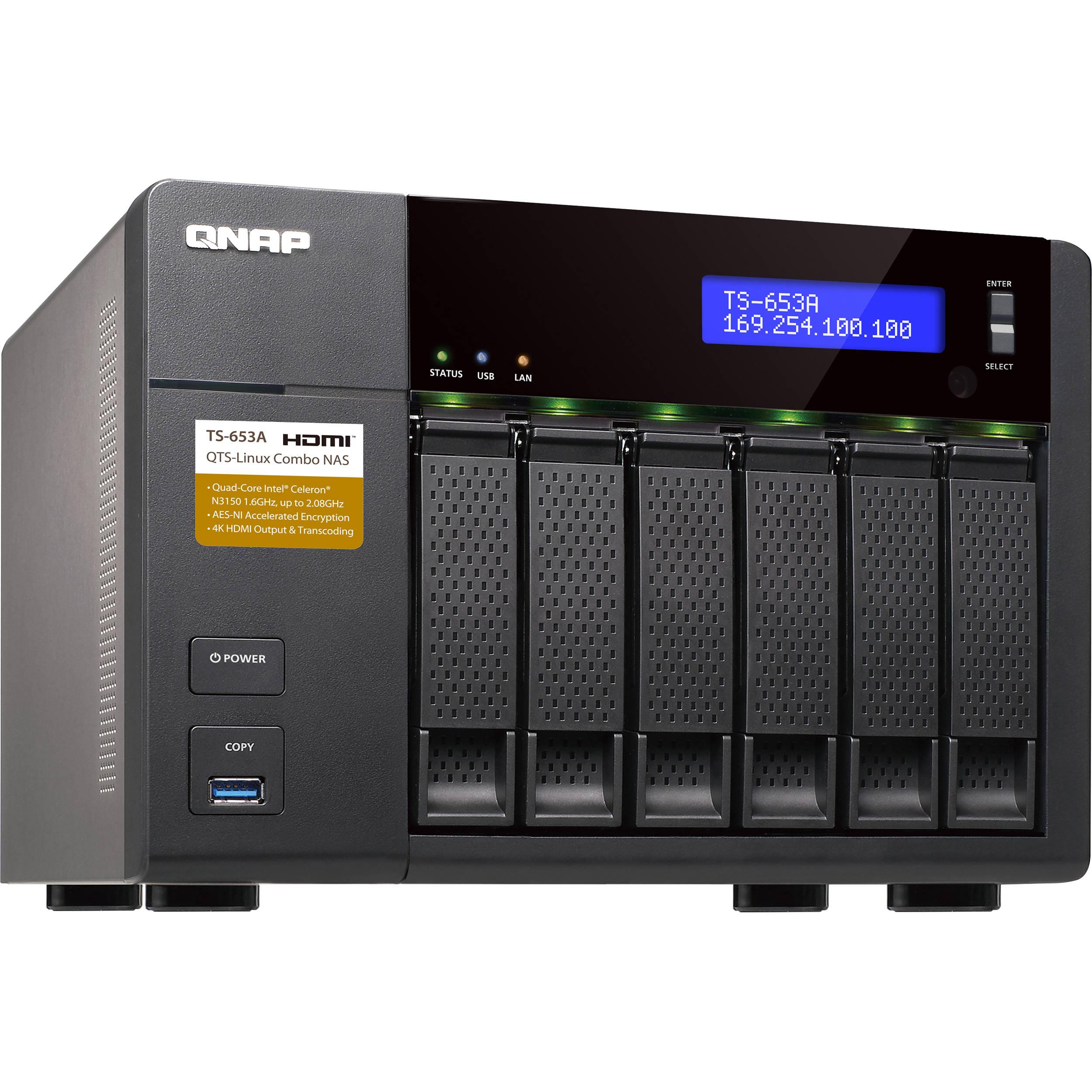 QNAP TS-653A 6-Bay NAS Enclosure