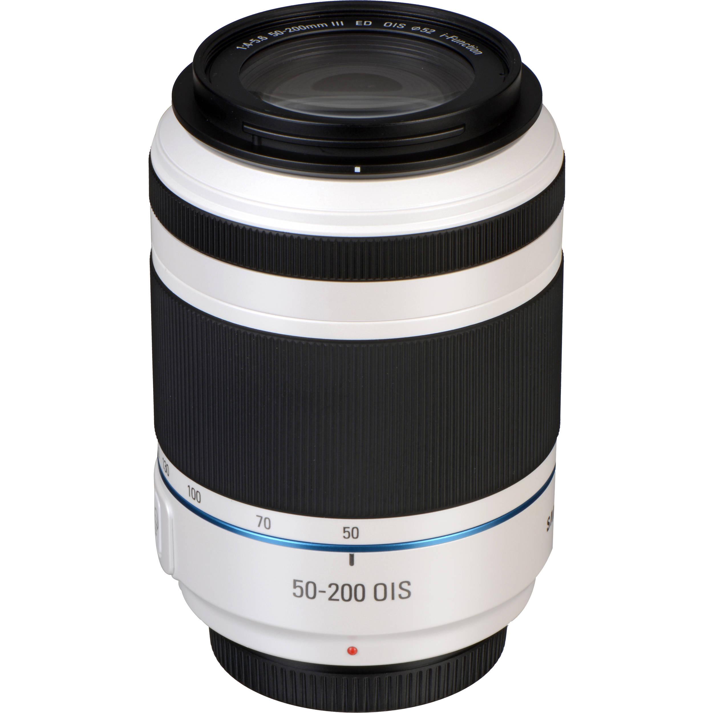 Samsung NX 50-200mm Negro Lente F//4.0-5.6 OIS III ED