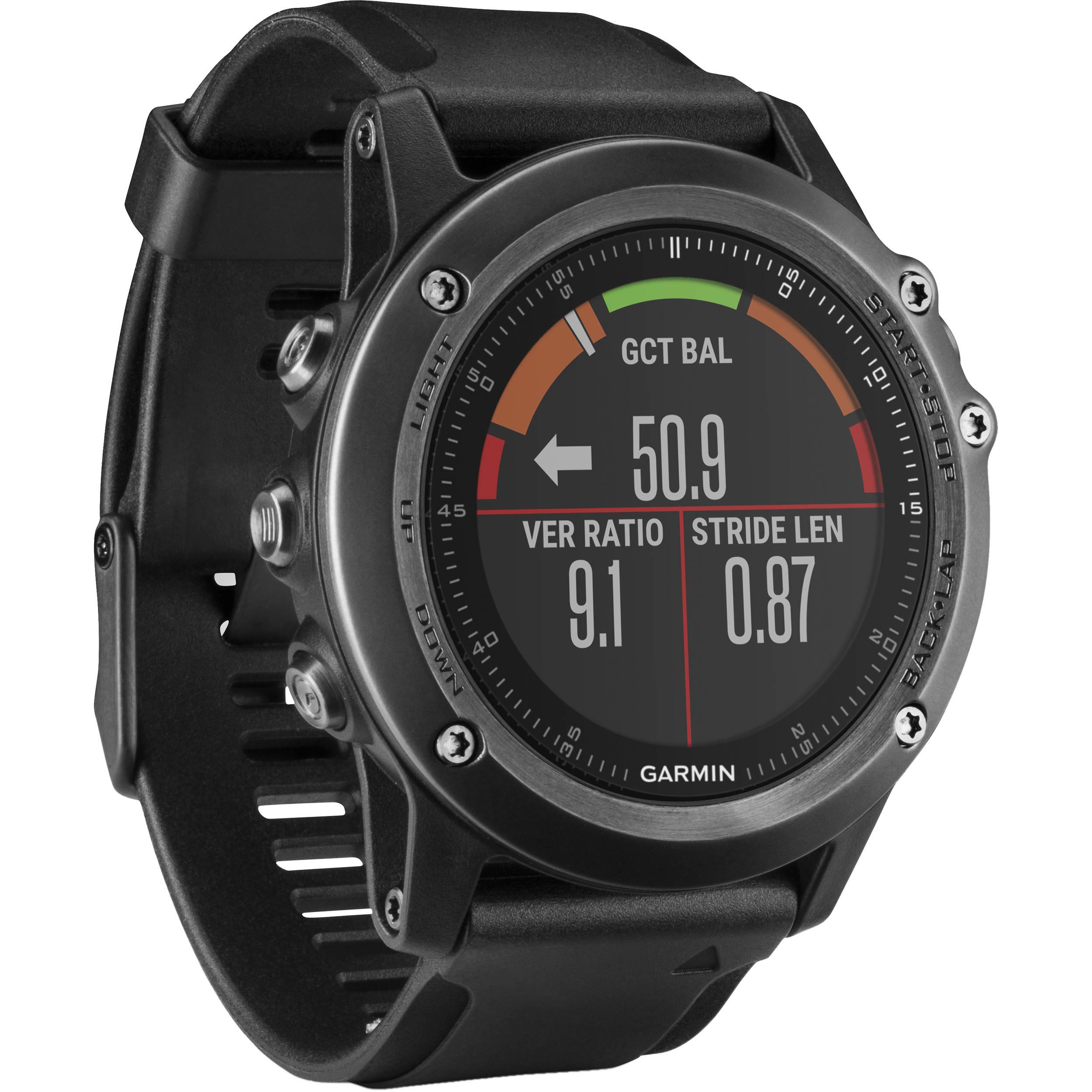 Garmin Fenix 3 Hr Multi Sport Training Gps Watch 010 01338 70