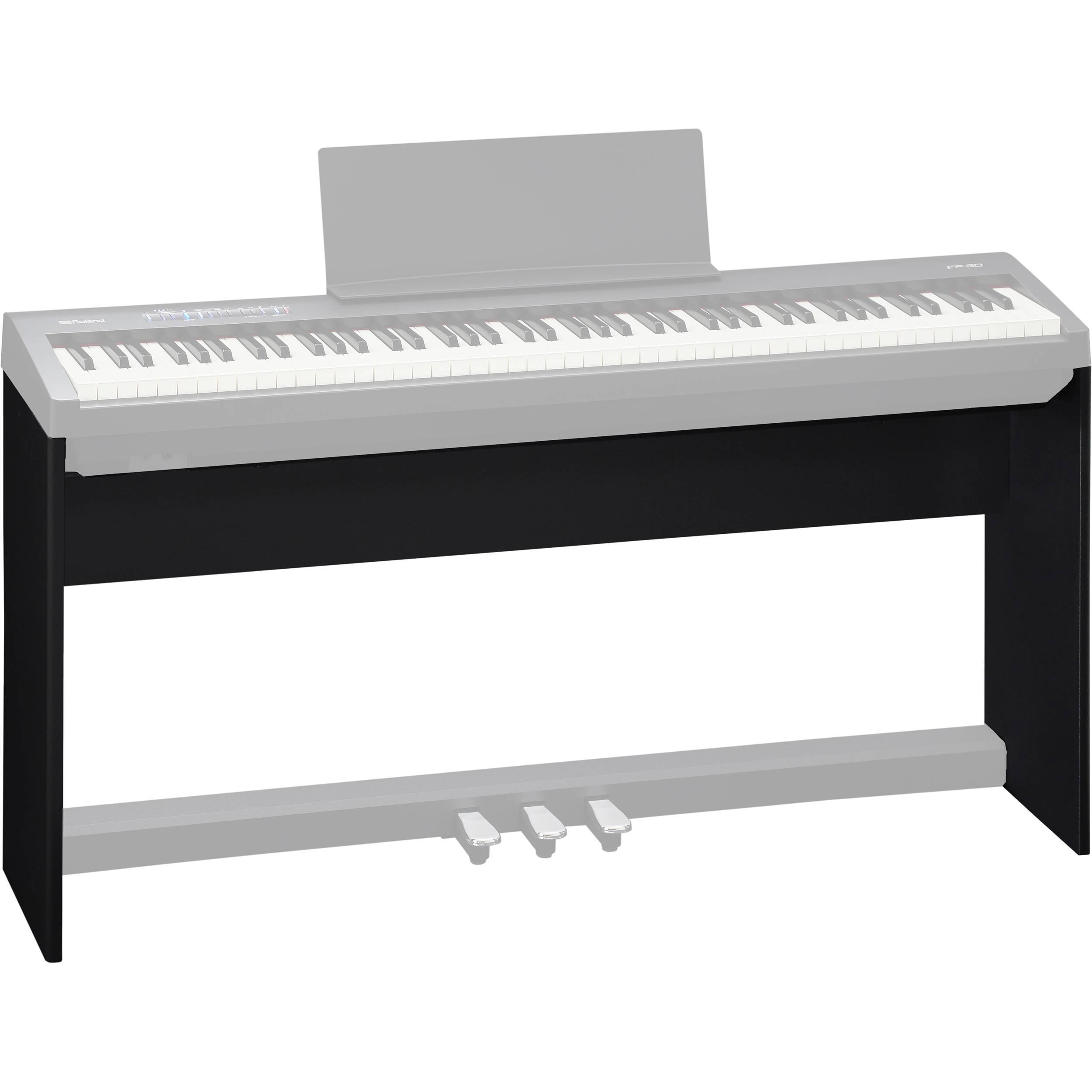 Roland Ksc 70 Stand For Fp 30 Digital Piano Black Ksc 70 Bk