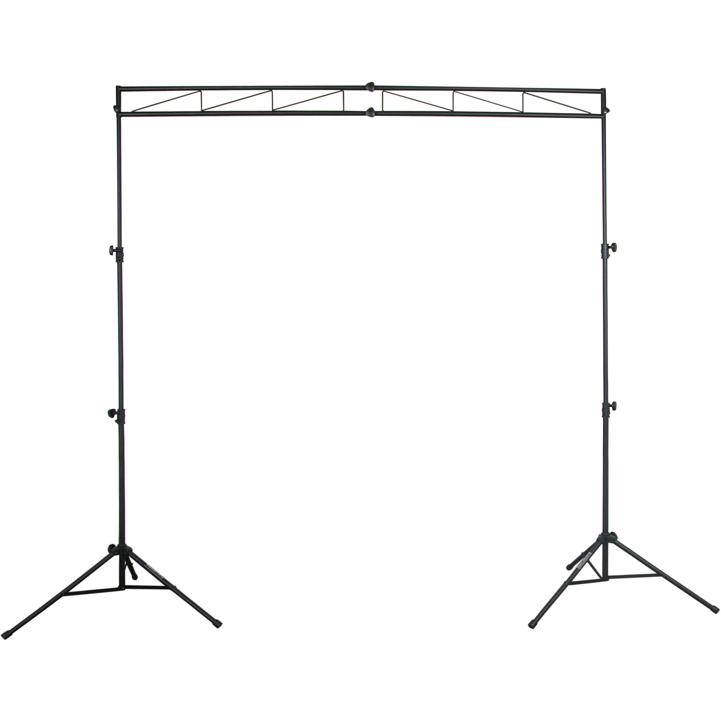 Odyssey Innovative Designs Mts 8 Compact Lighting Mobile Truss System Black