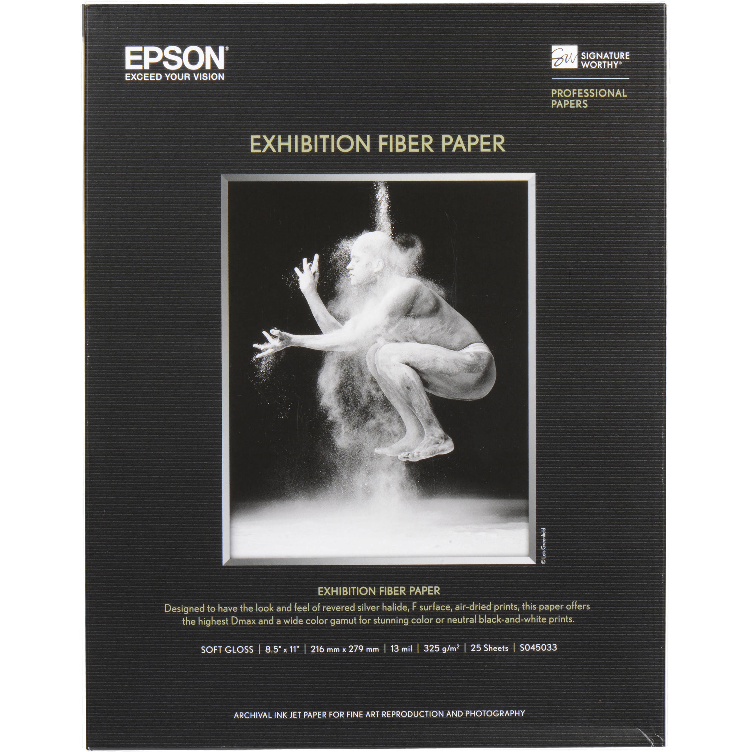 Epson Exhibition Fiber Paper (8 5 x 11