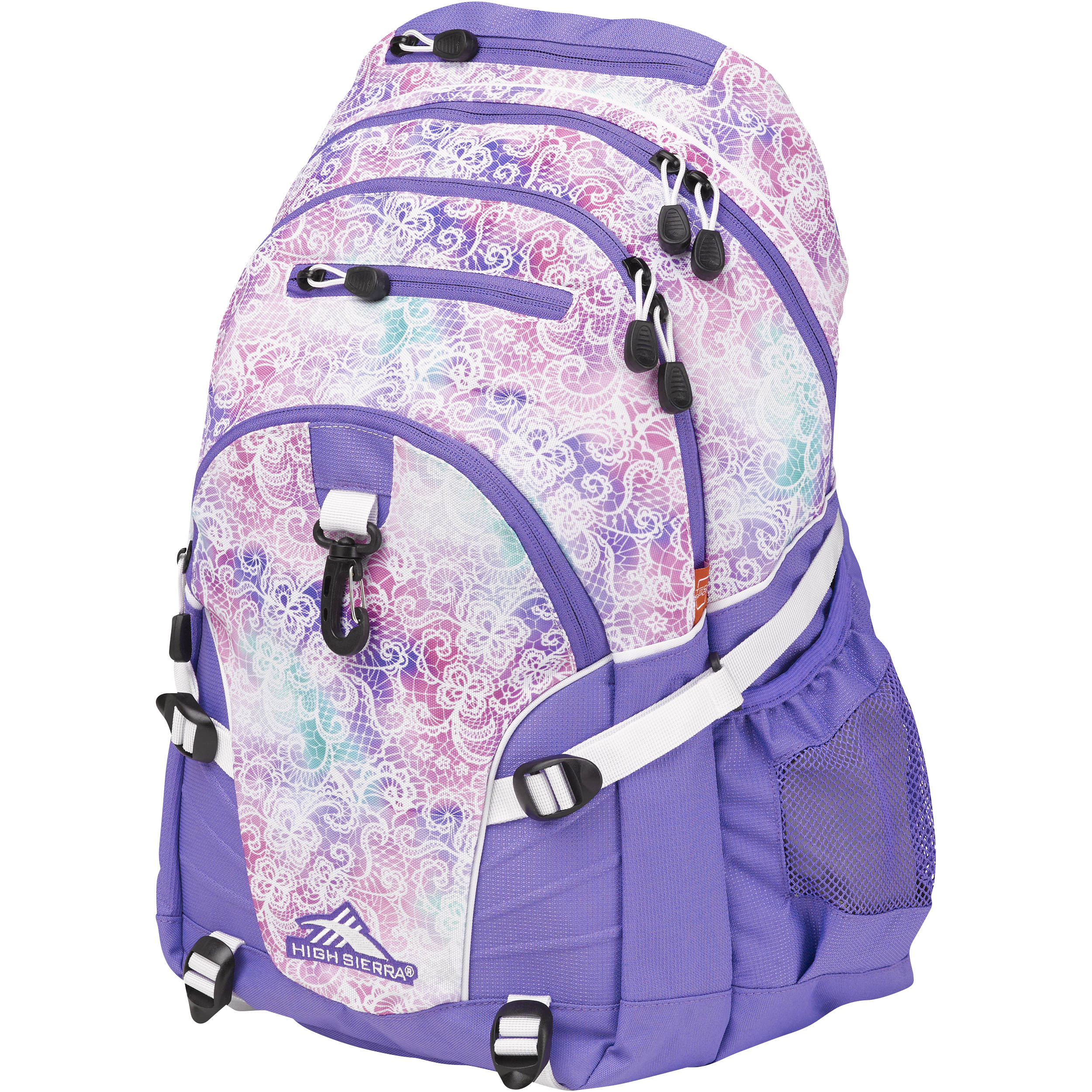 a96ad2471769 High Sierra Loop Backpack (Delicate Lace / Lavender / White)