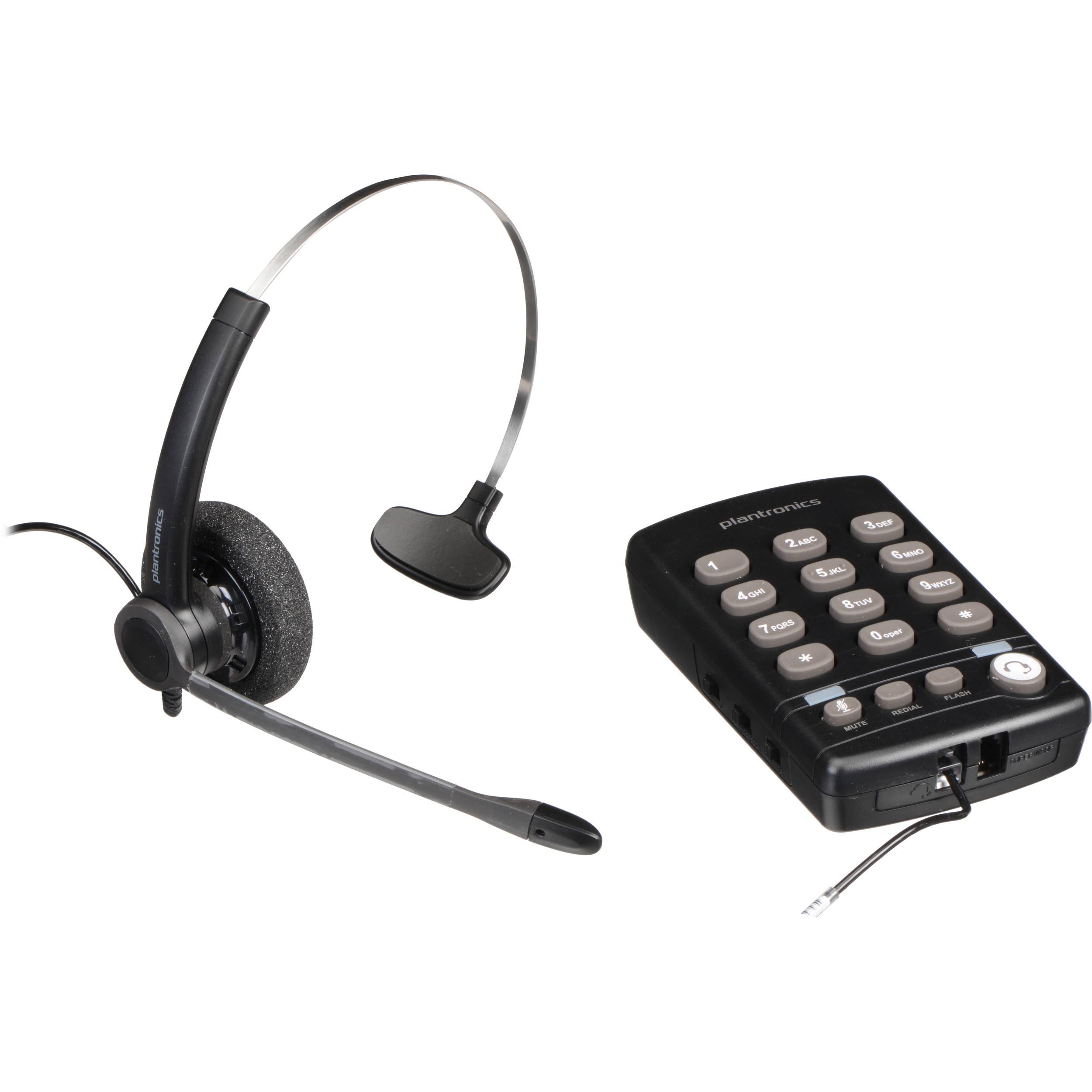 Plantronics Practica T110 Headset Telephone 204549 01 B H Photo