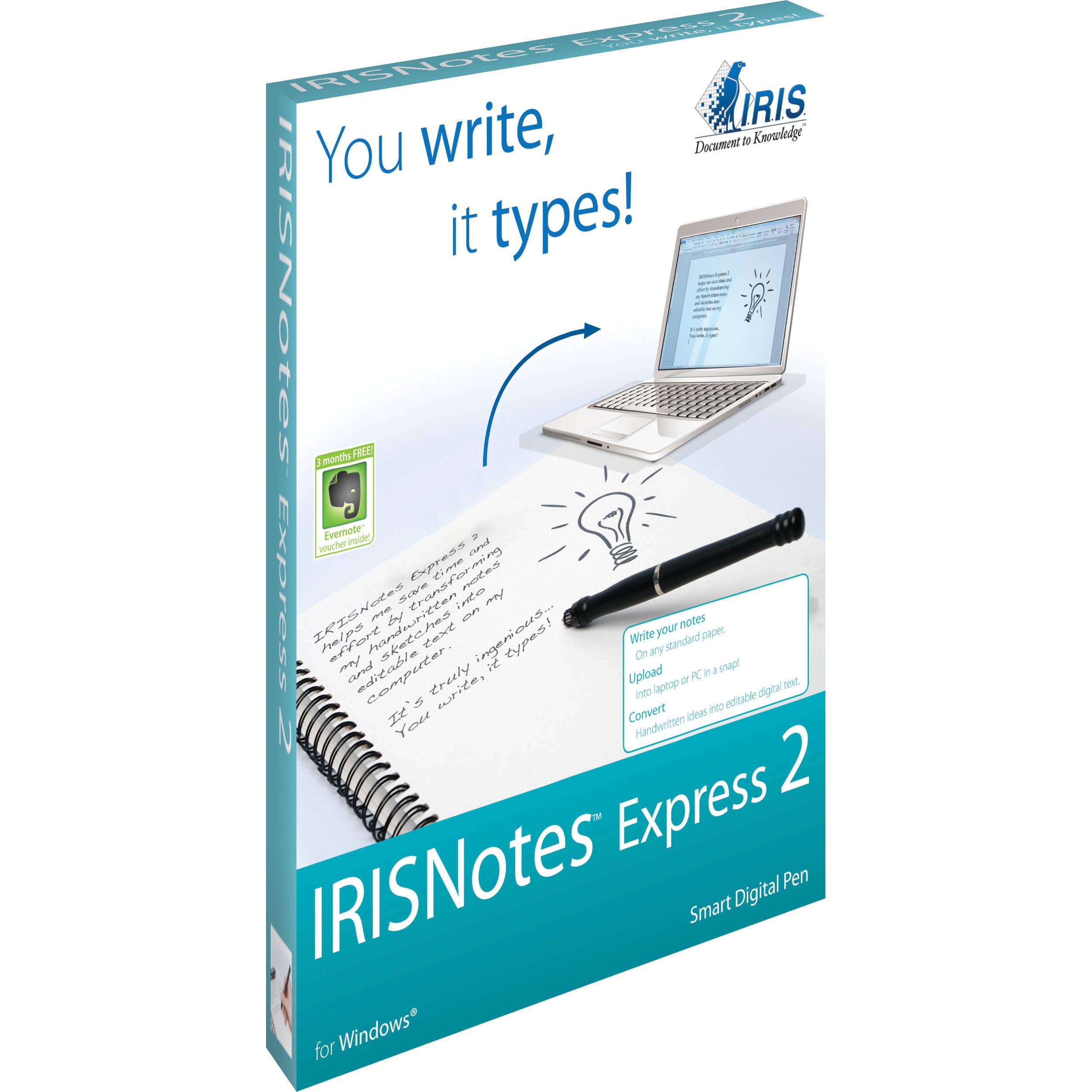 IRISNotes Express 2 Digital Pen for Windows