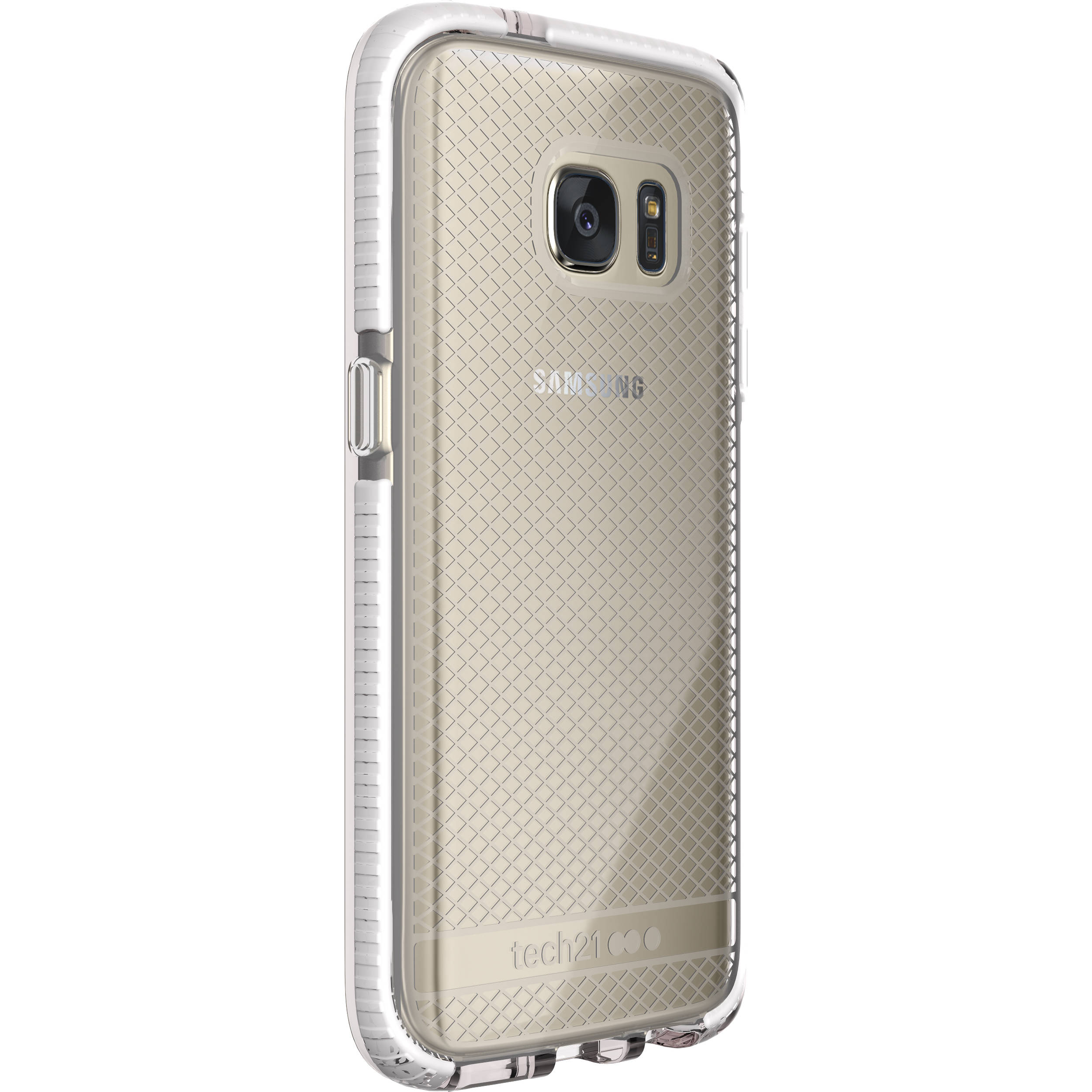 best loved ca71a aa1dd Tech21 Evo Check Case for Galaxy S7 (Clear/White)
