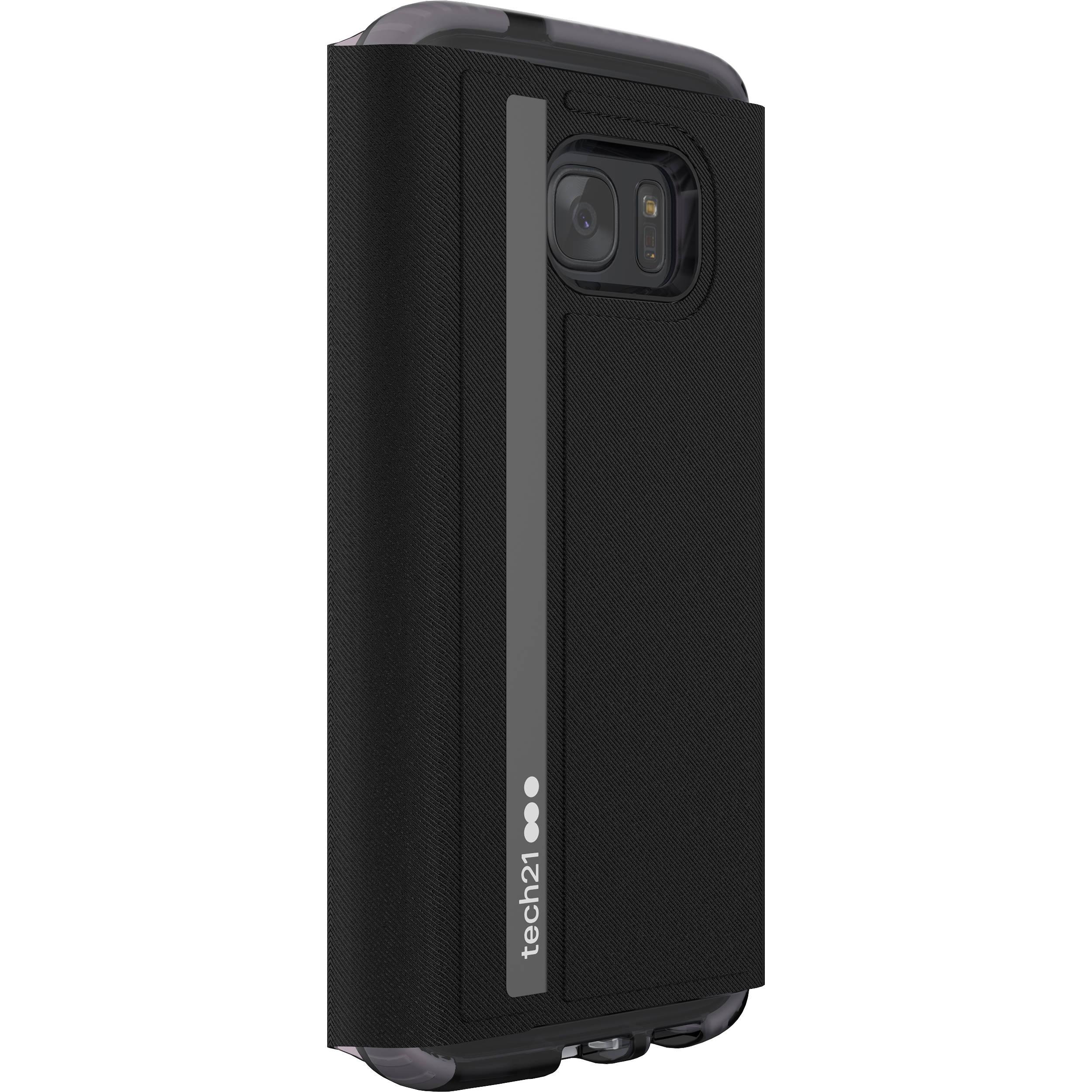 big sale eb19f b5338 Tech21 Evo Wallet Case for Galaxy S7 (Black)