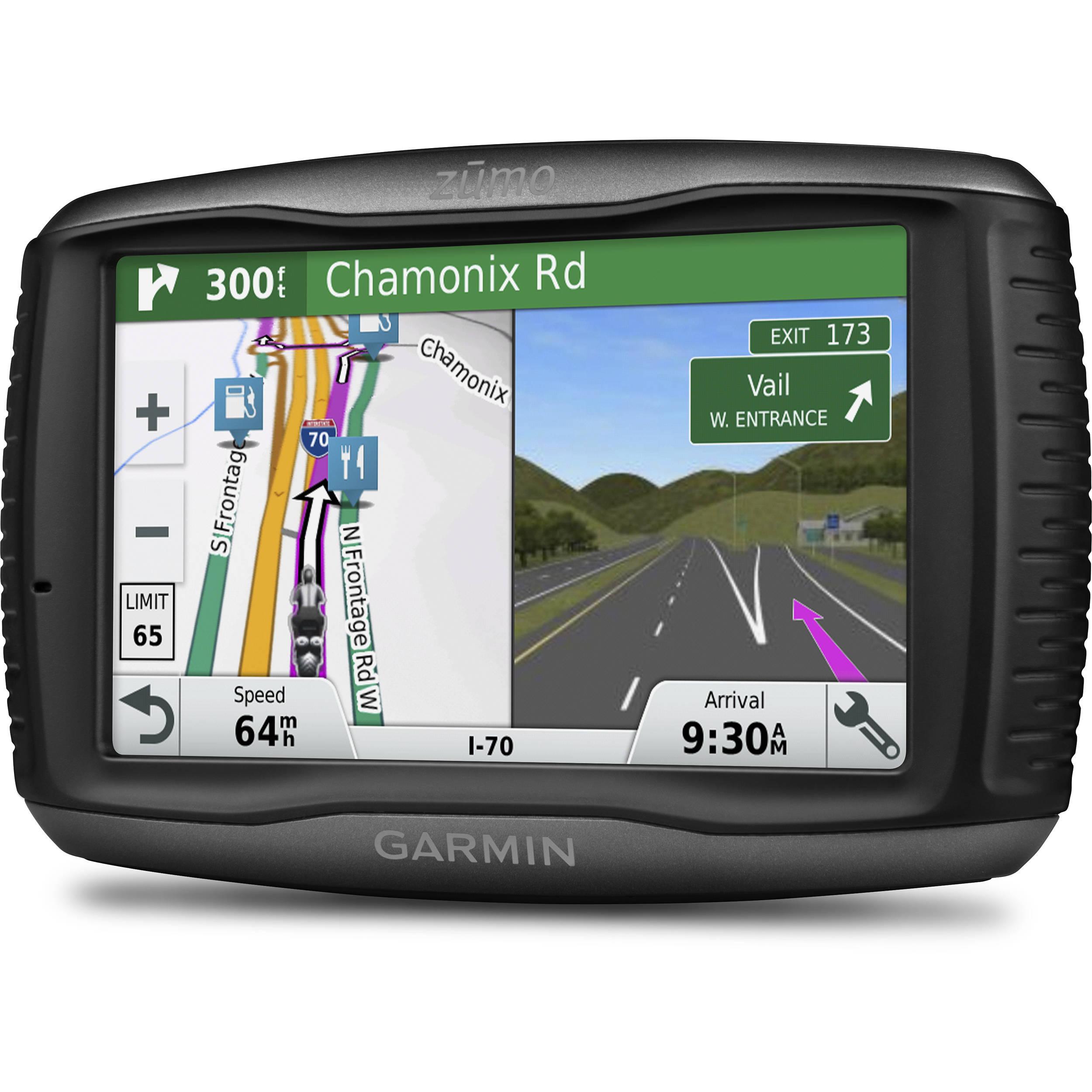 09b0e0d40d1 Garmin zumo 595LM GPS System 010-01603-00 B&H Photo Video