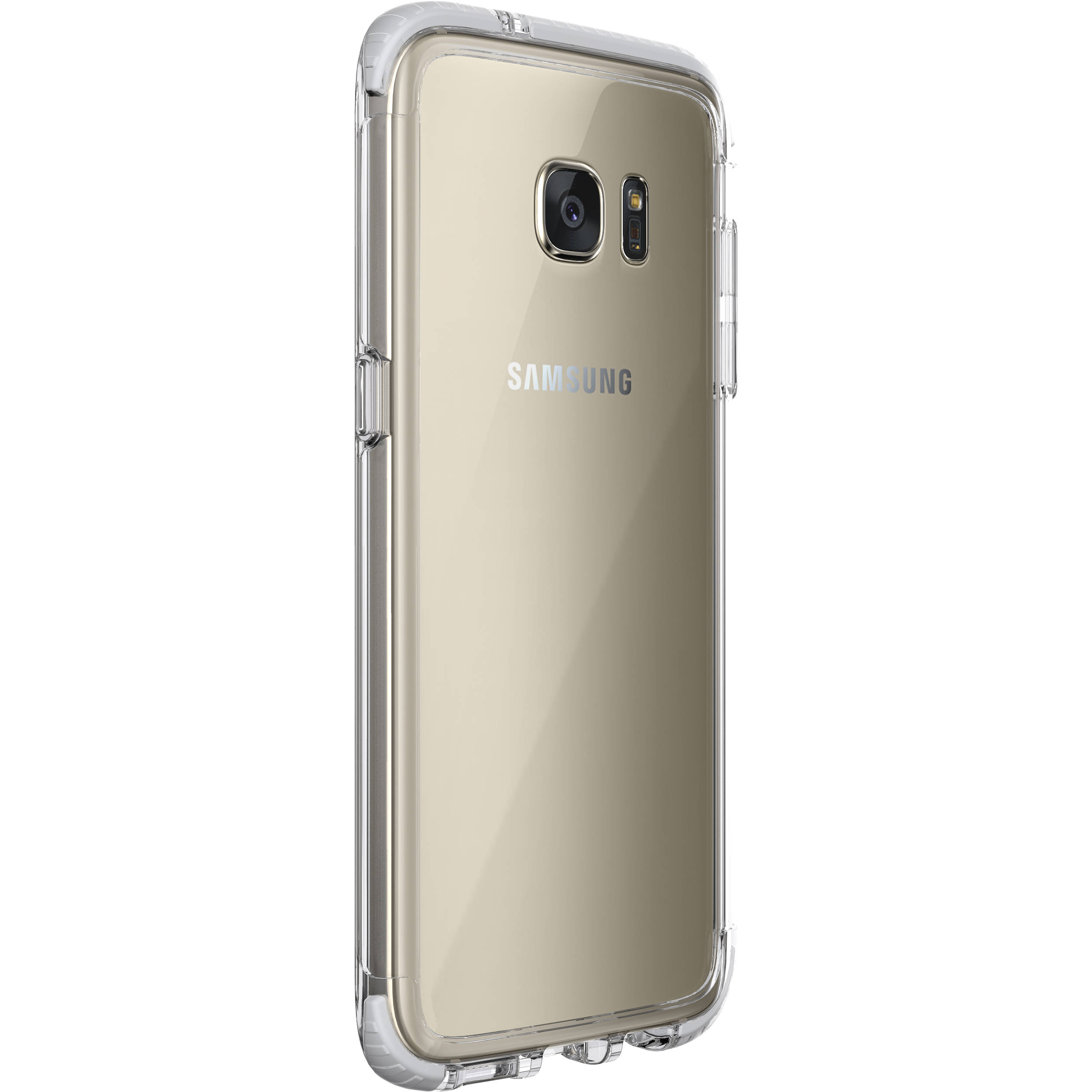 info for 7365c f84c9 Tech21 Evo Frame Case for Galaxy S7 edge (Clear/White)