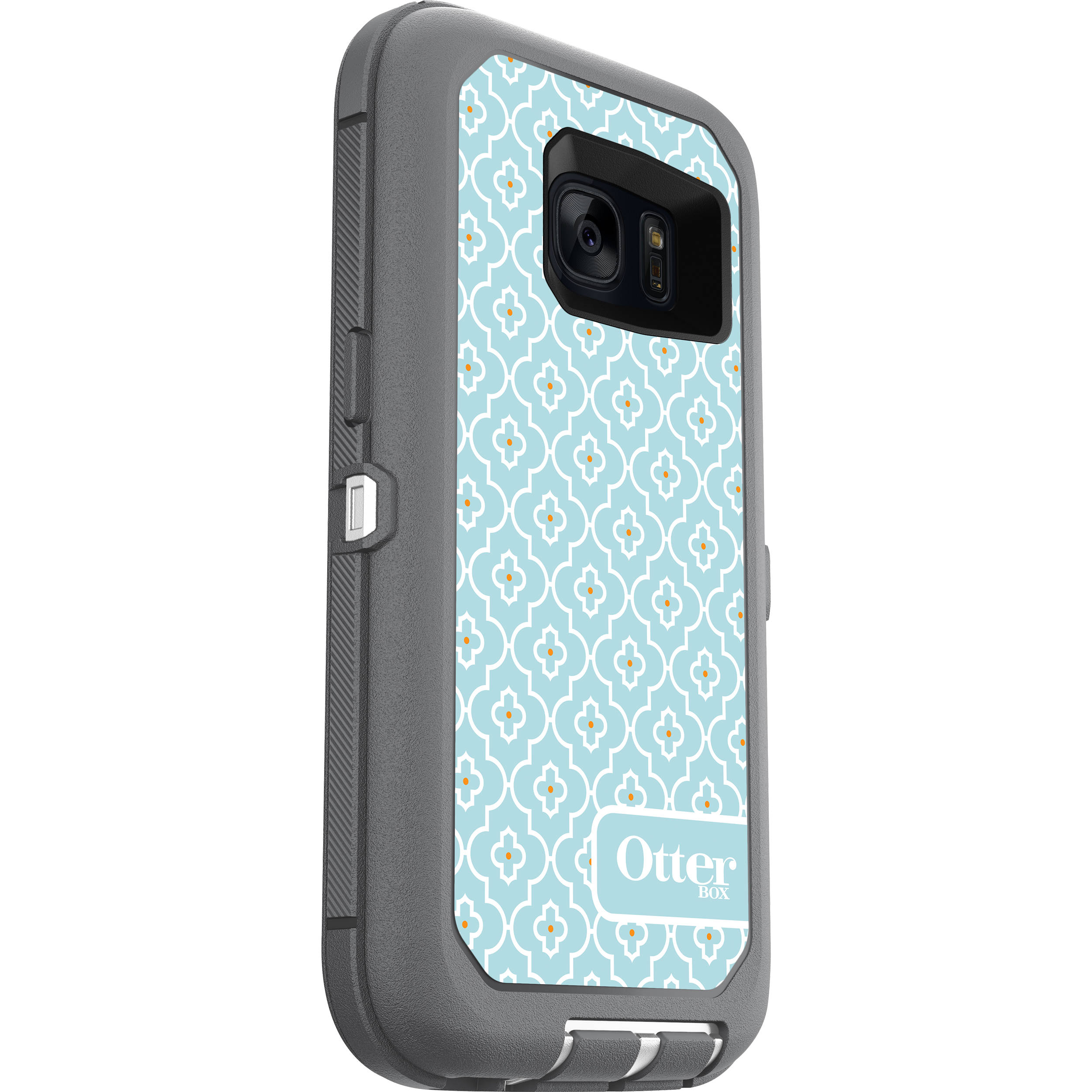 designer fashion f4057 48cd4 OtterBox Defender Series Case for Galaxy S7 (Moroccan Sky)