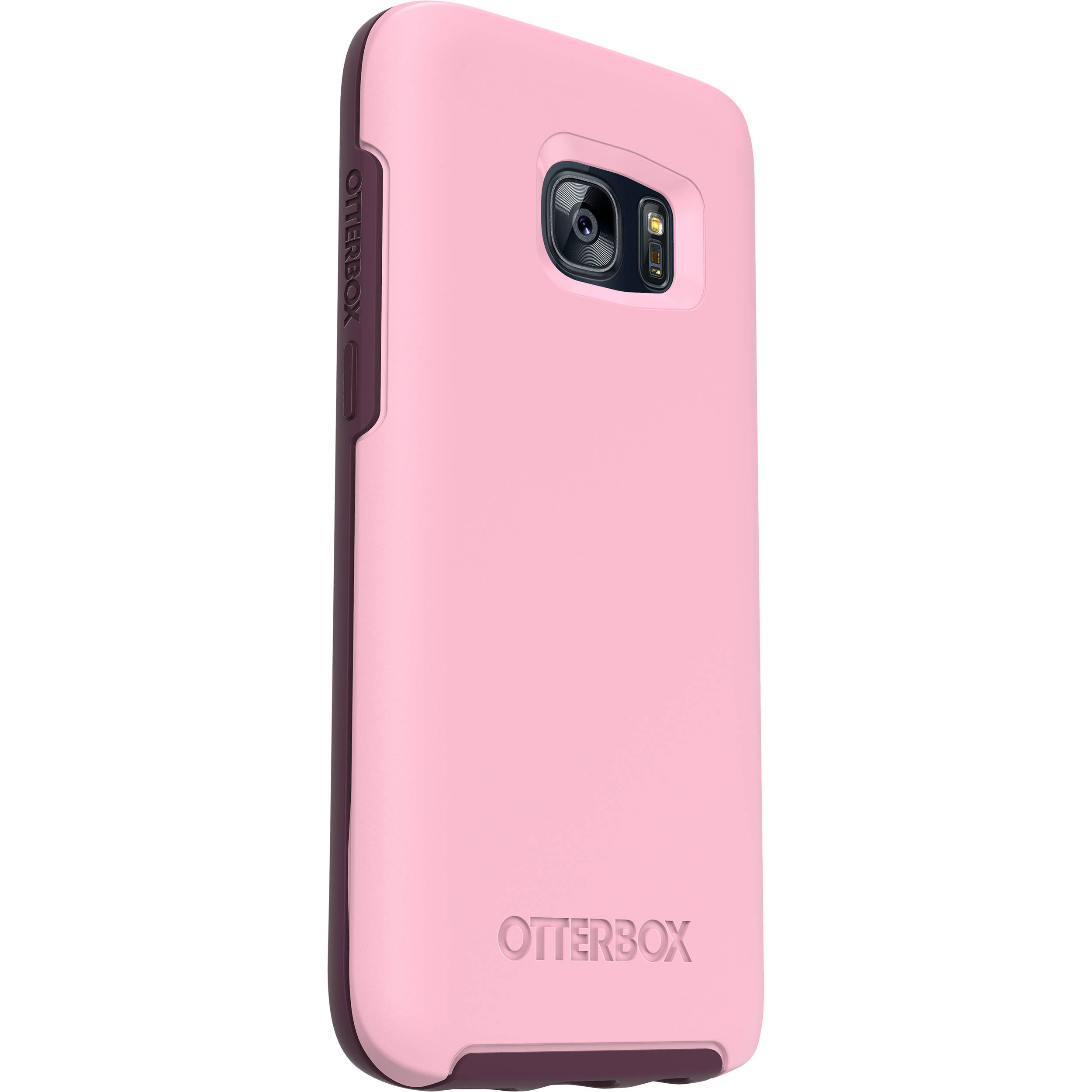 new arrive b0975 25e69 OtterBox Symmetry Series Case for Galaxy S7 (Rose)