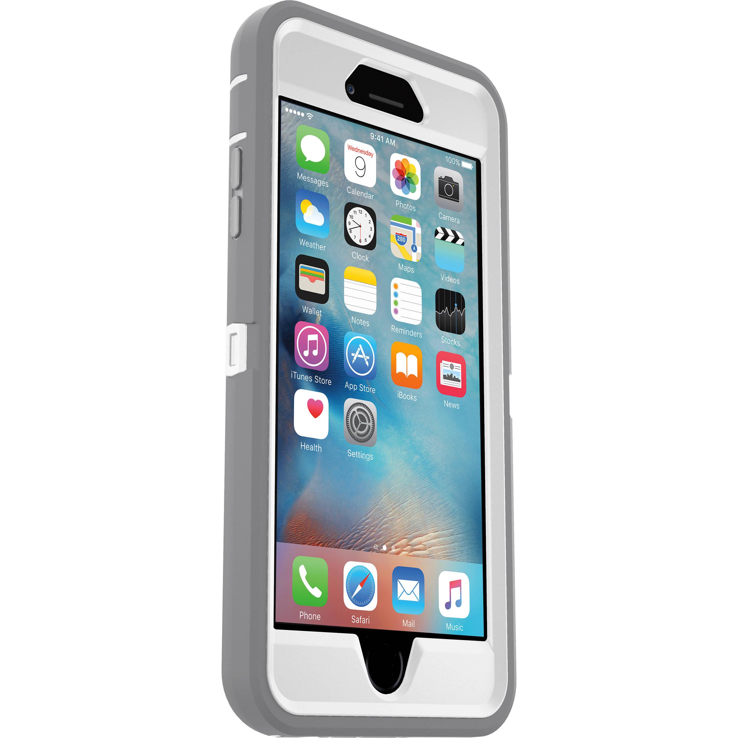 OtterBox Defender Series Case for iPhone 6 Plus/6s Plus (Glacier)