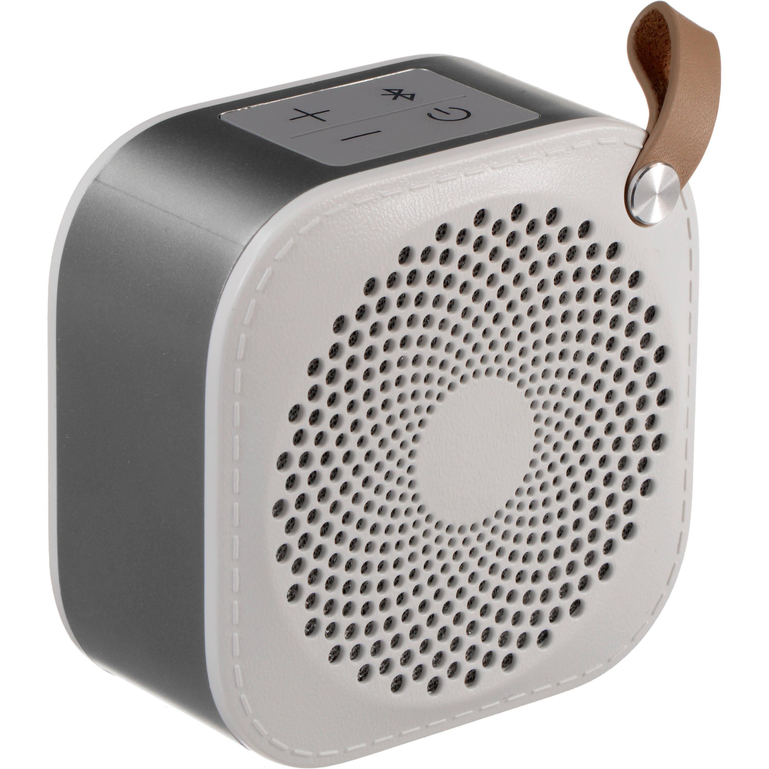 Hitachi BTN8 Portable Bluetooth Speaker (White, Small)