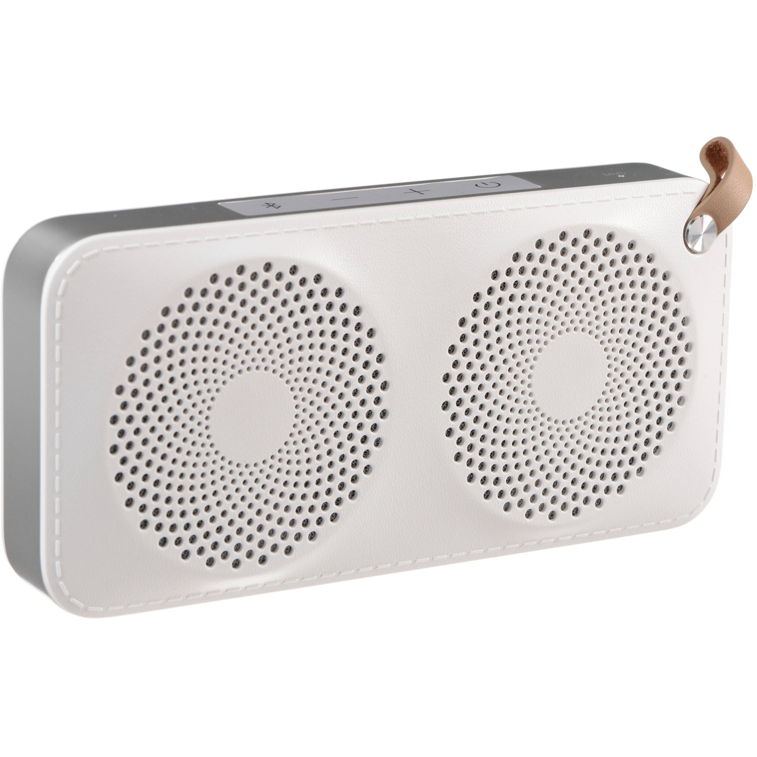 Hitachi BTN8 Portable Bluetooth Speaker (White, Medium)