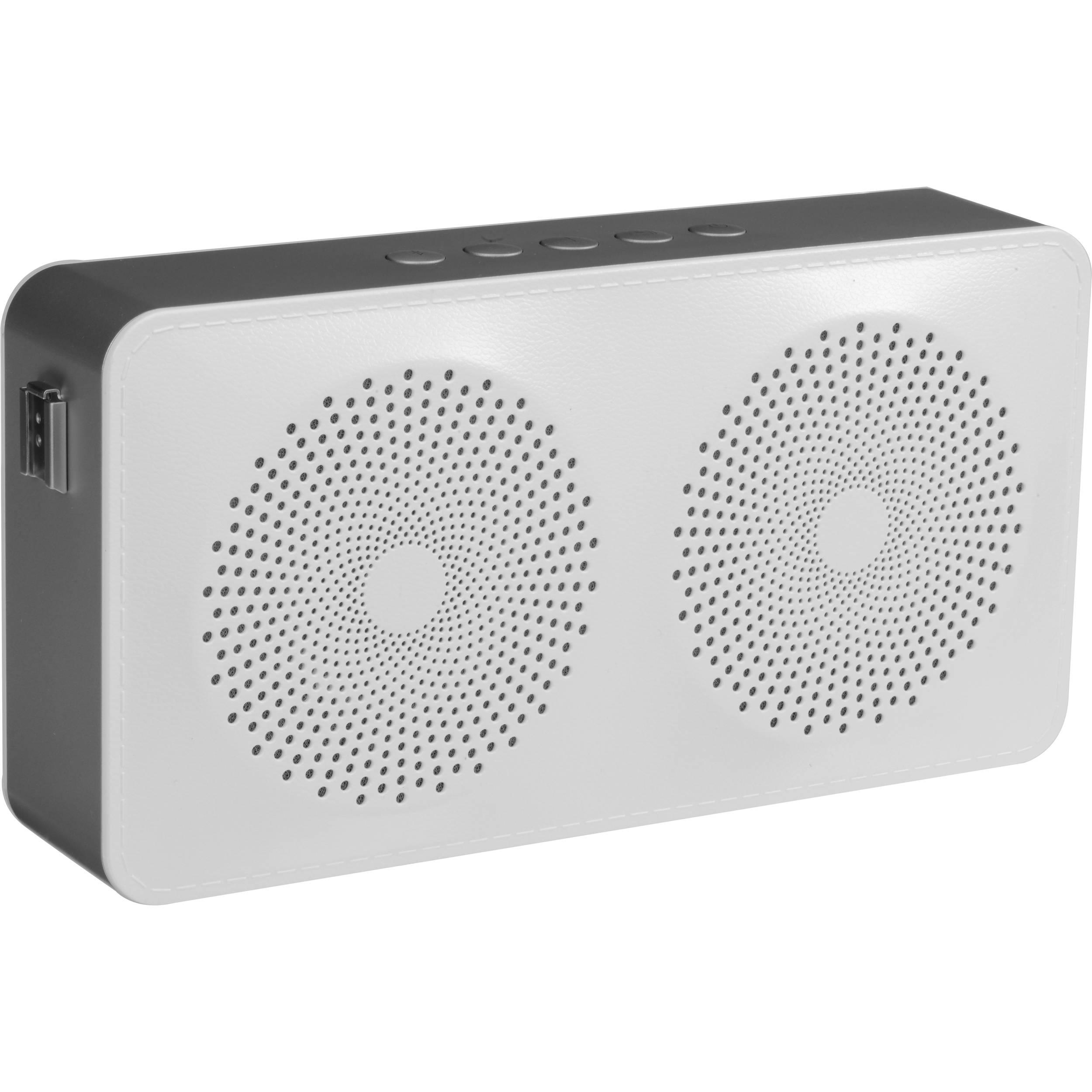 Hitachi BTN8 Portable Bluetooth Speaker (White, Large)