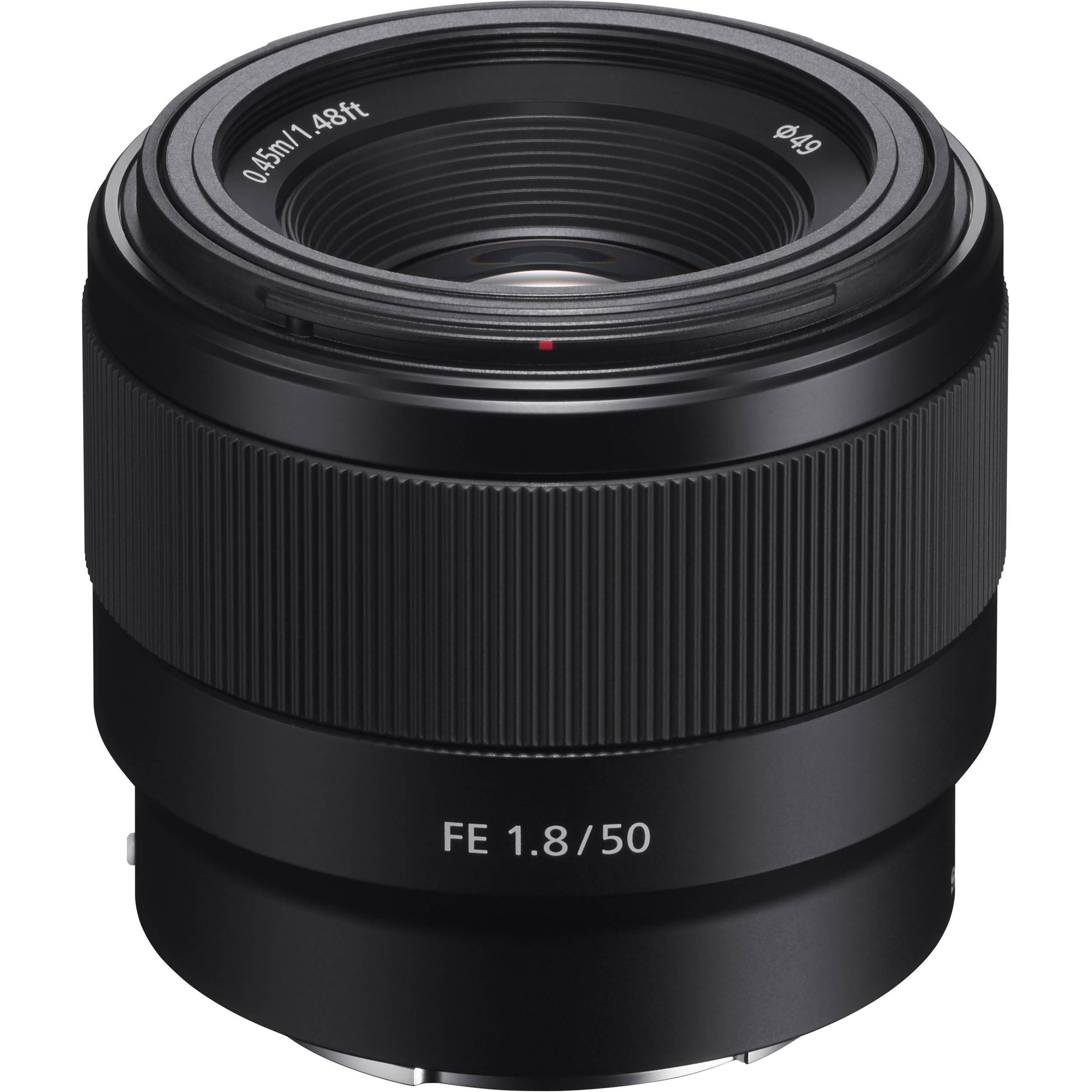 Sony E Mount Full Frame Lenses >> Sony Fe 50mm F 1 8 Lens Sel50f18f B H Photo Video