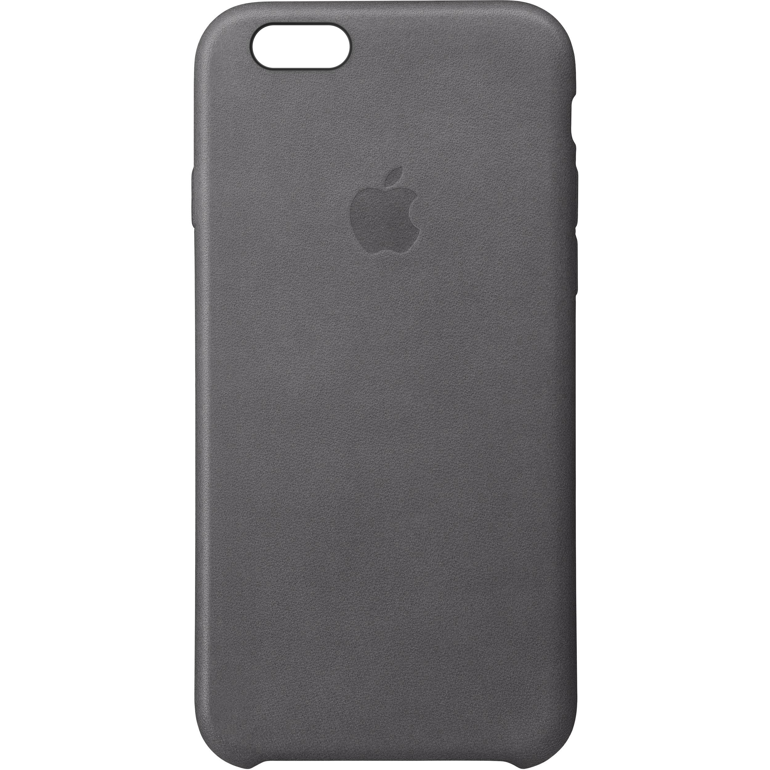 designer fashion 92957 05d61 Apple iPhone 6/6s Leather Case (Storm Gray)