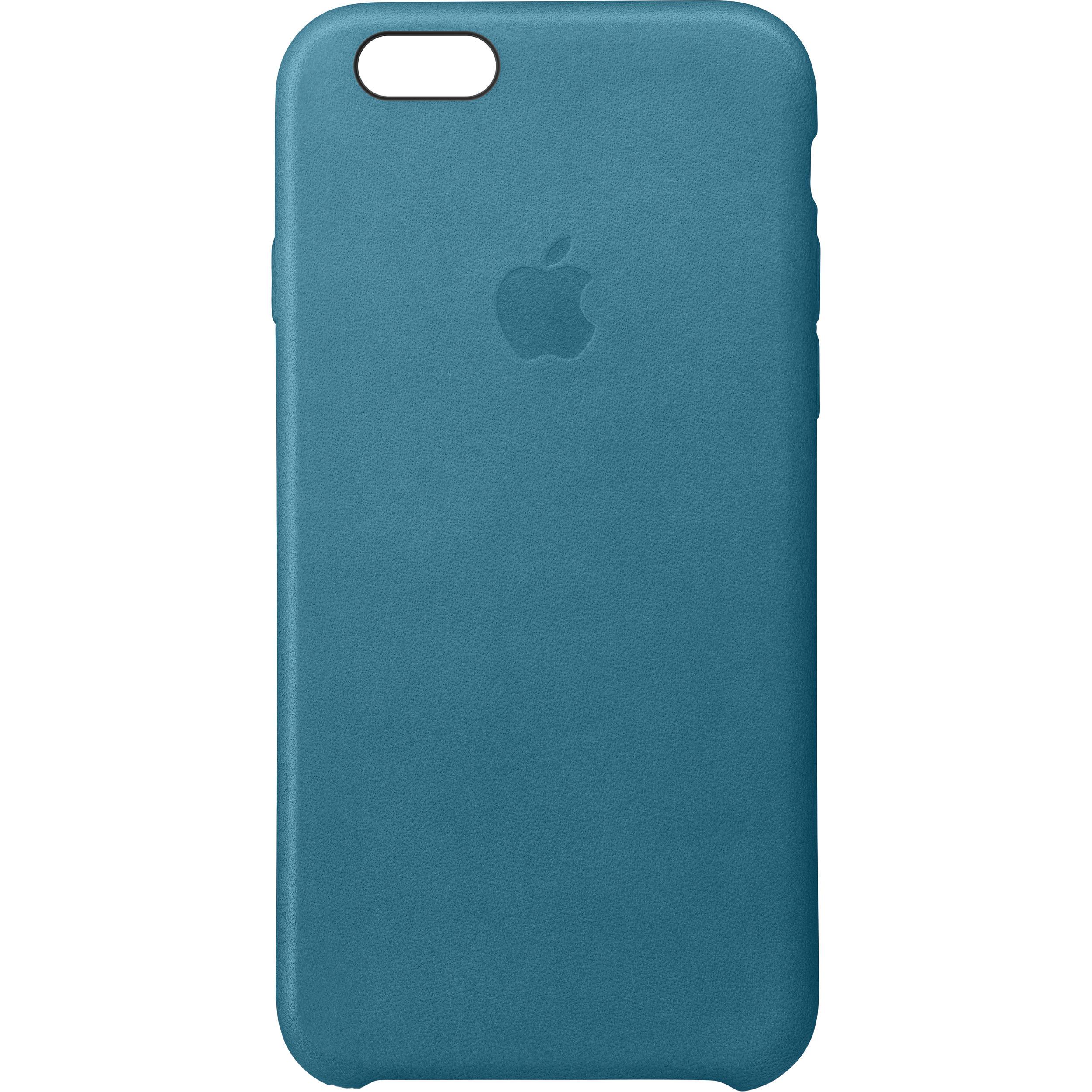 super popular 2e277 c4d2f Apple iPhone 6/6s Leather Case (Marine Blue)