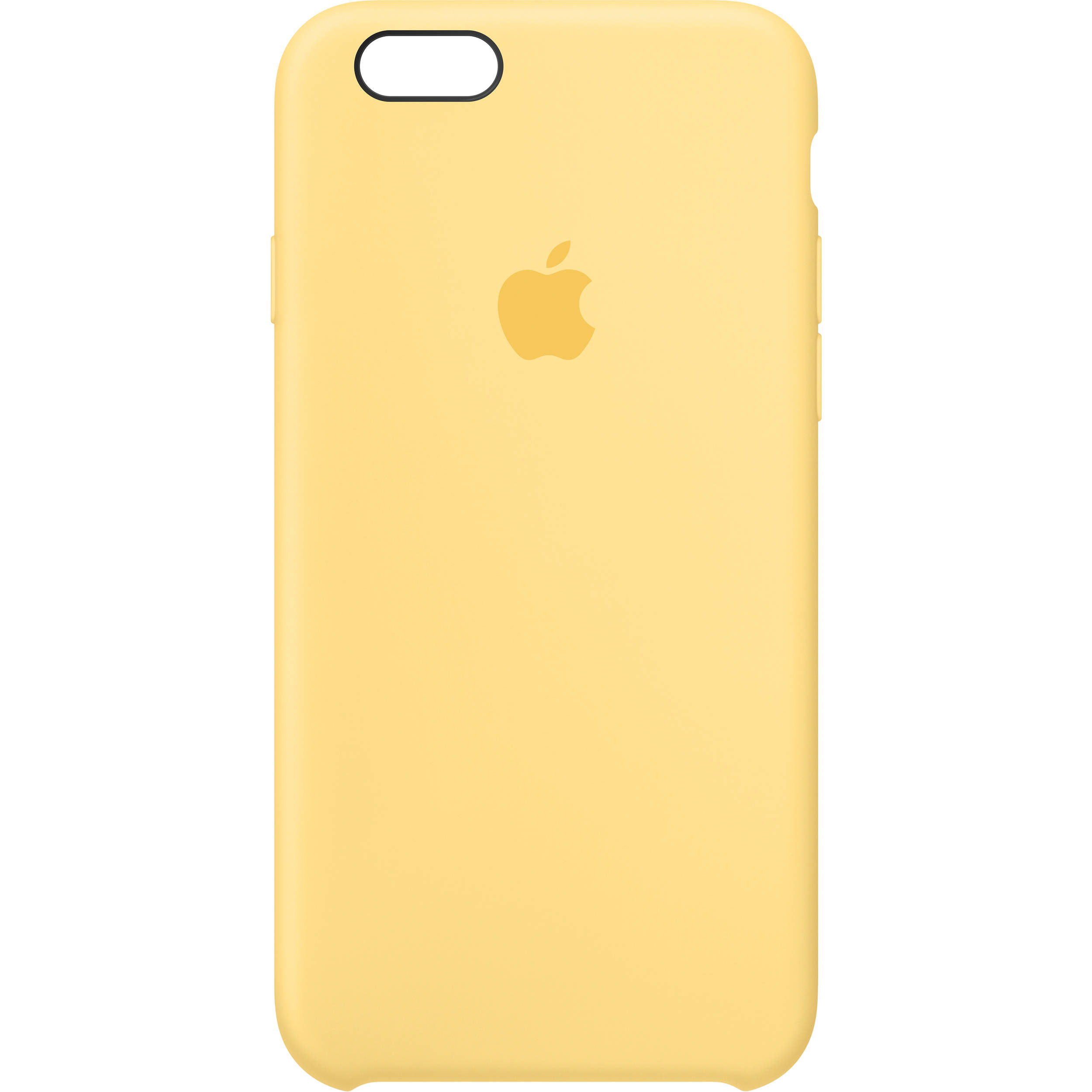 wholesale dealer 26368 4f11b Apple iPhone 6/6s Silicone Case (Yellow)