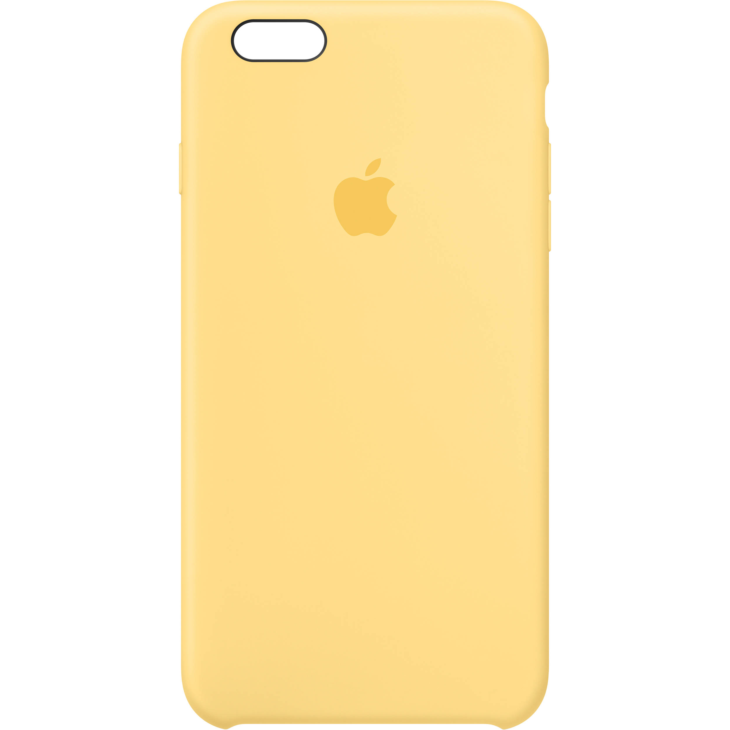new style b6e14 c1d47 Apple iPhone 6 Plus/6s Plus Silicone Case (Yellow)