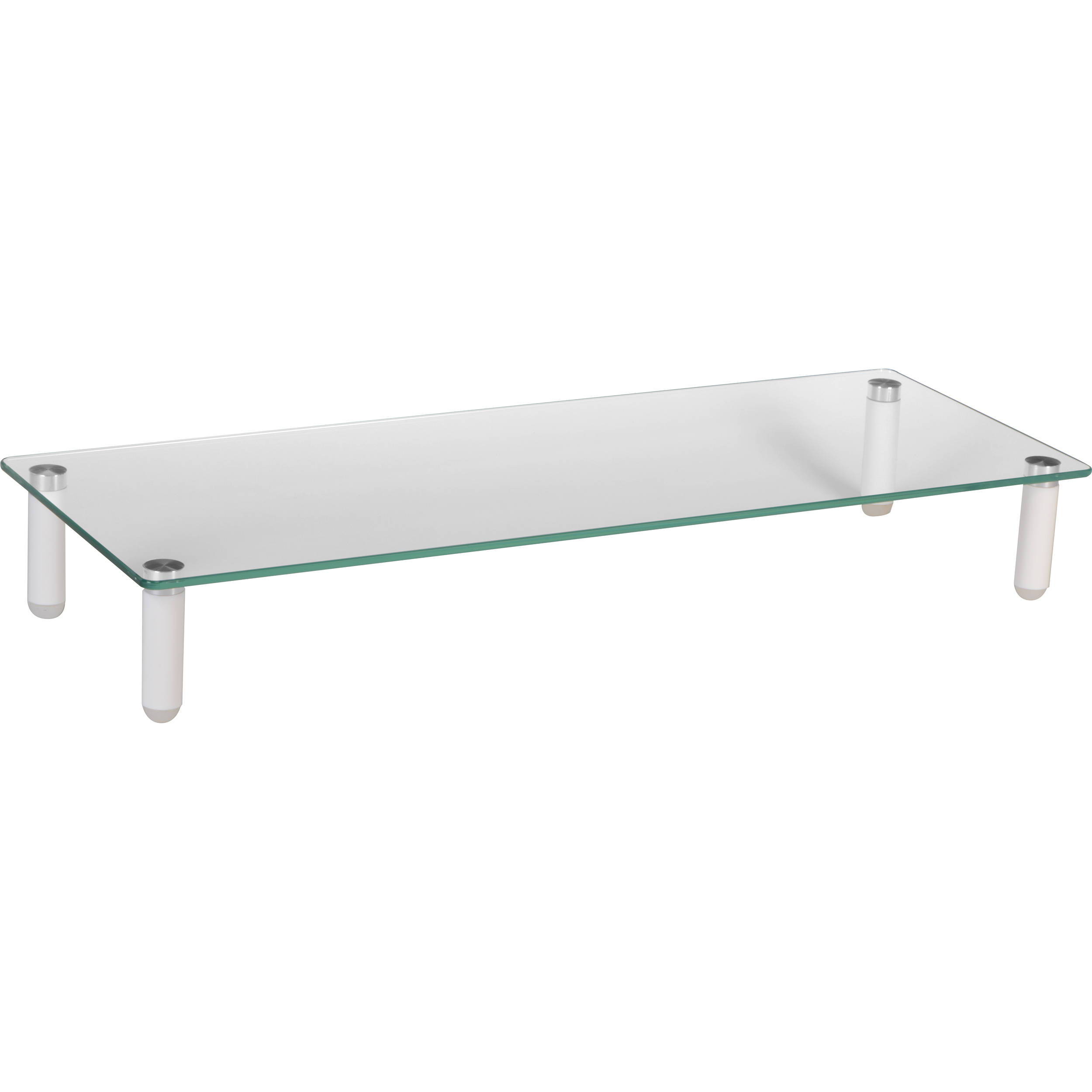 Mount It Mi 7263 Traditional Glass Computer Monitor Stand