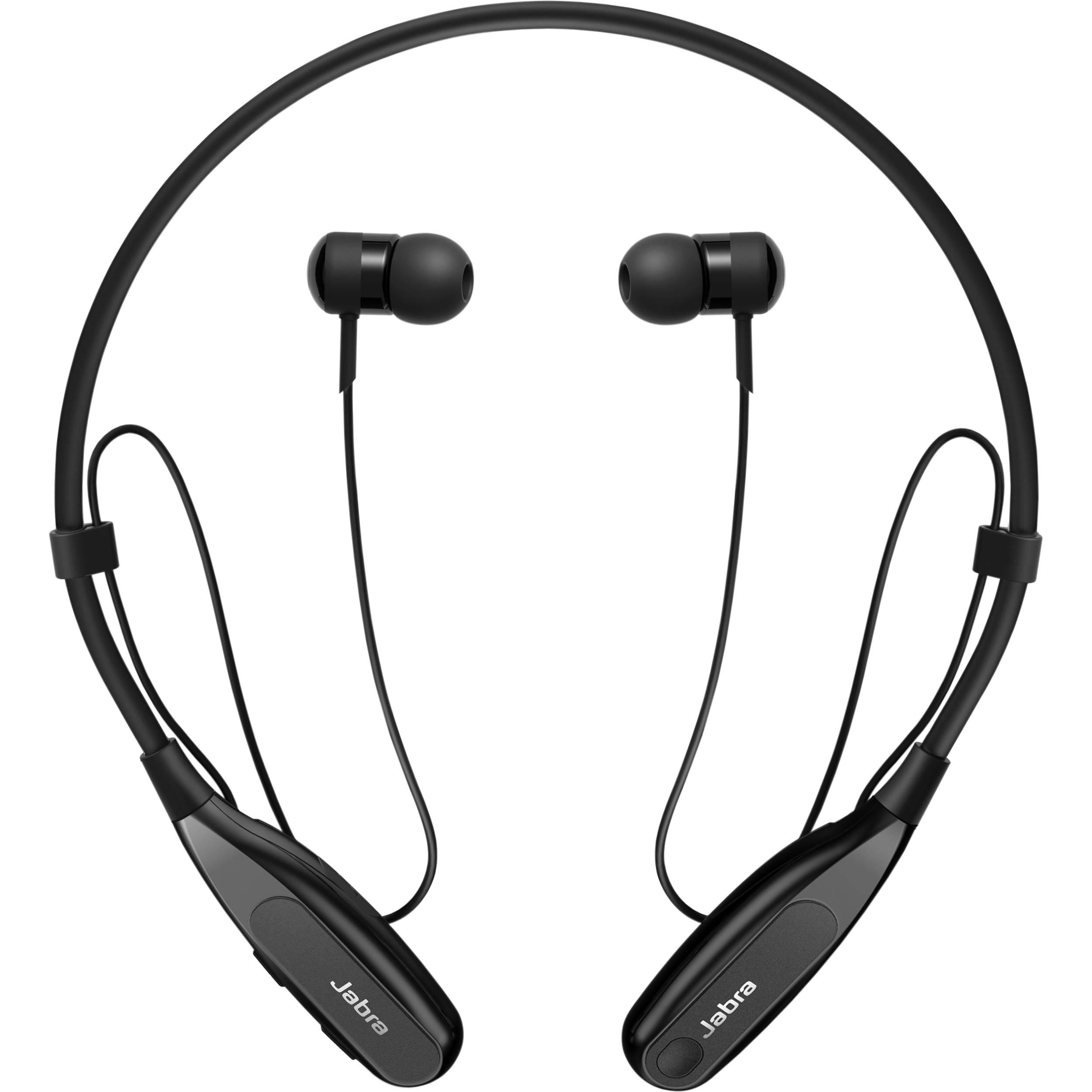 Jabra Halo Fusion Stereo Bluetooth Headset Black
