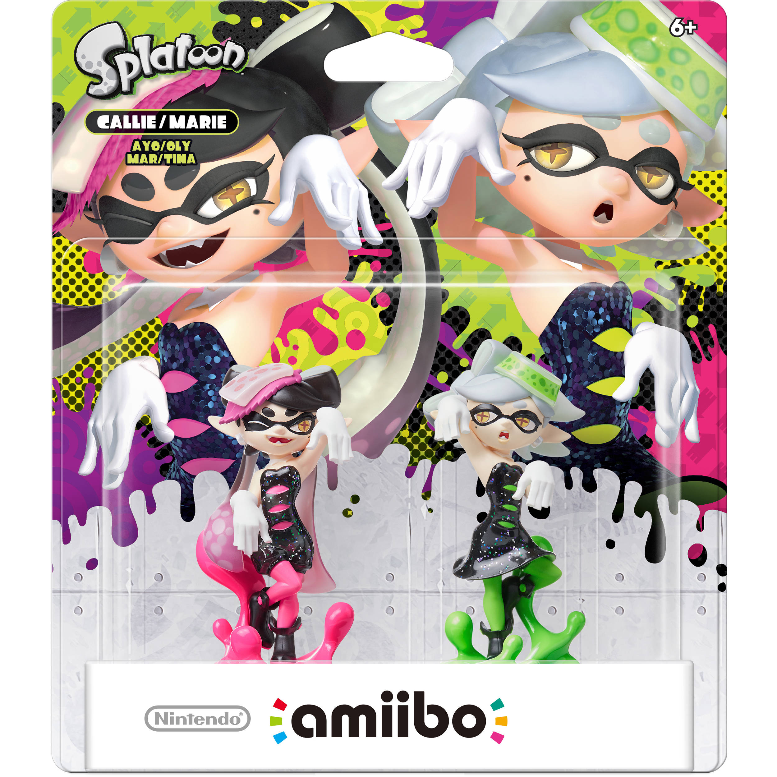 Nintendo Callie and Marie amiibo Figures (Splatoon Series)