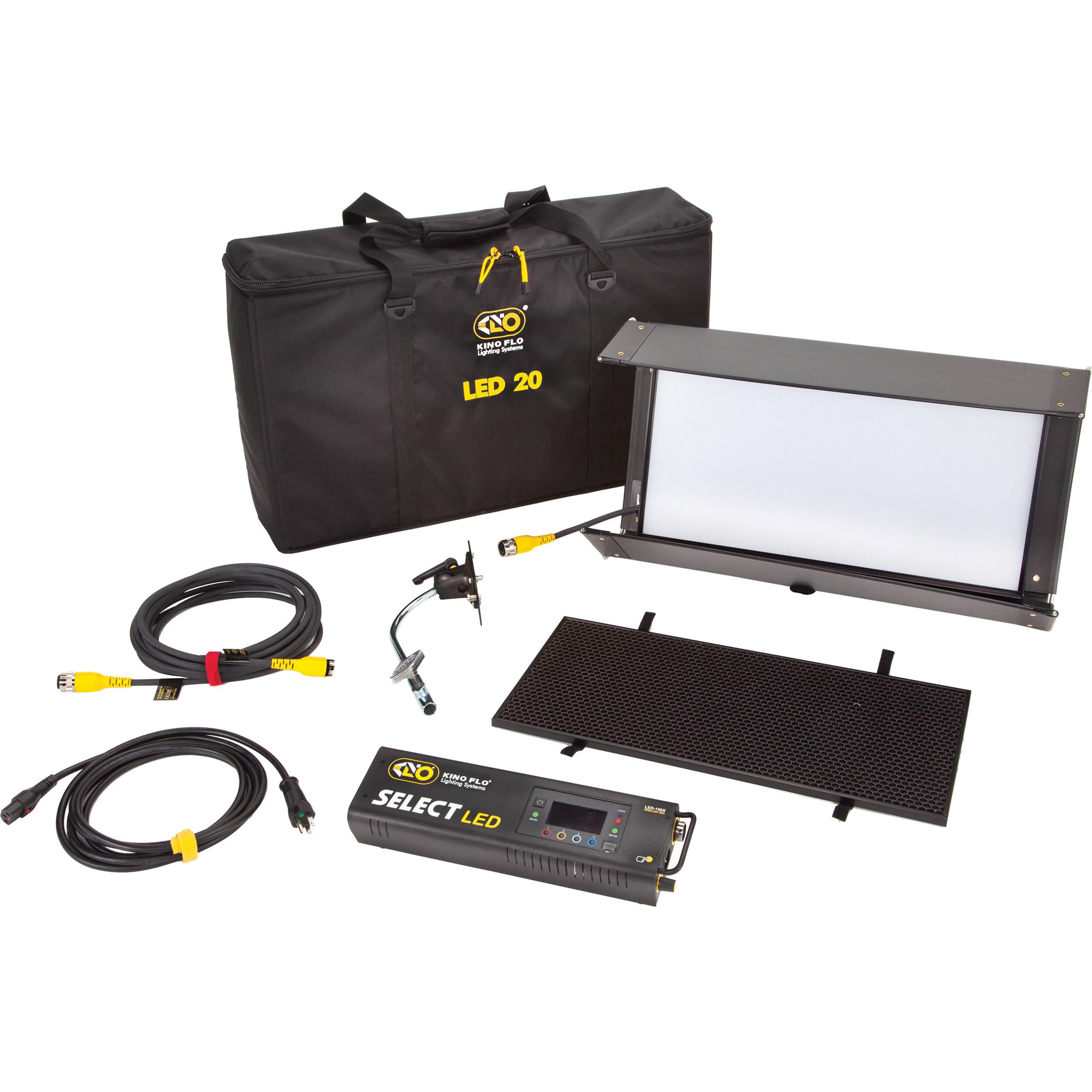 Kino Flo Select 12 DMX Kit with Soft Case