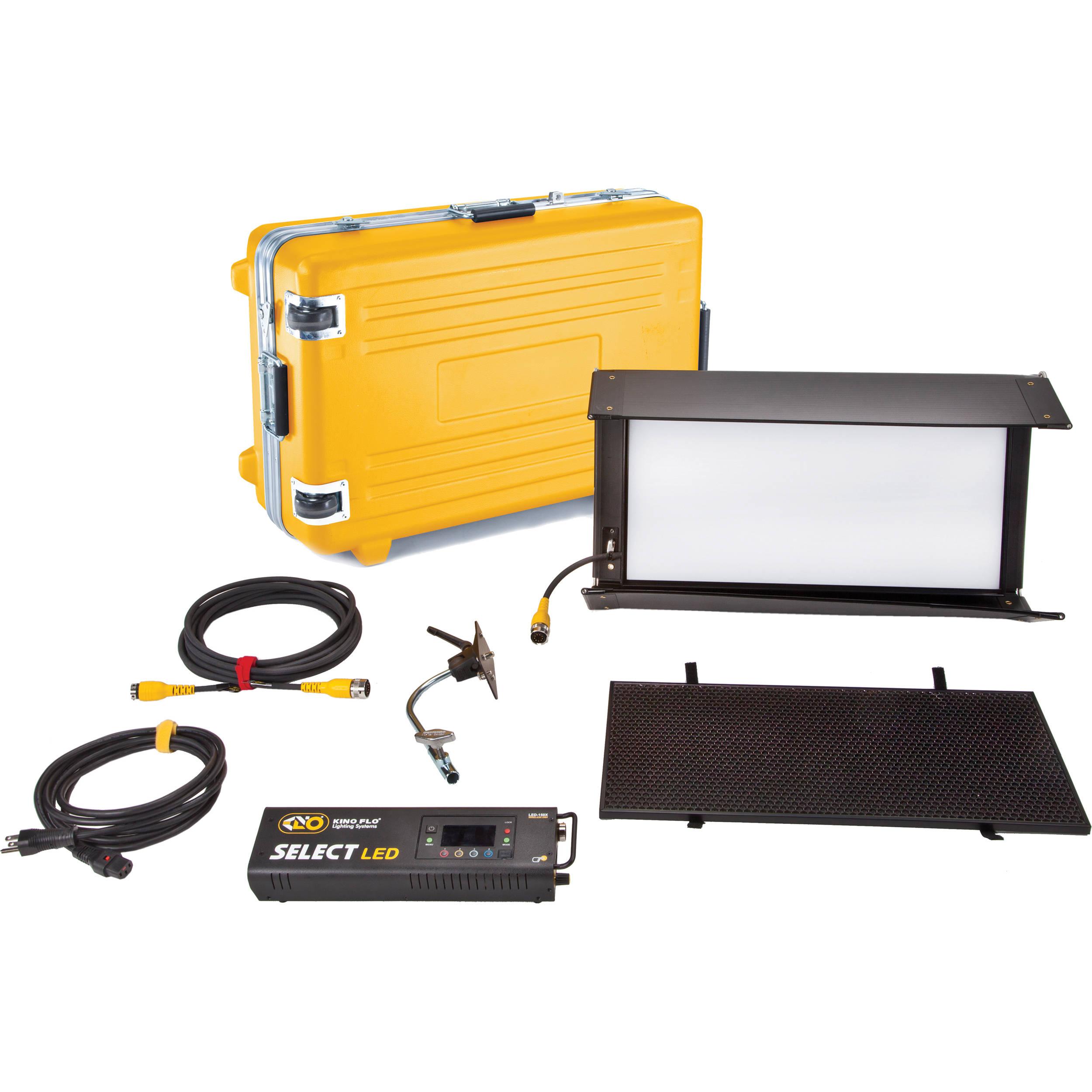 Kino Flo Select 12 DMX Kit with Flight Case