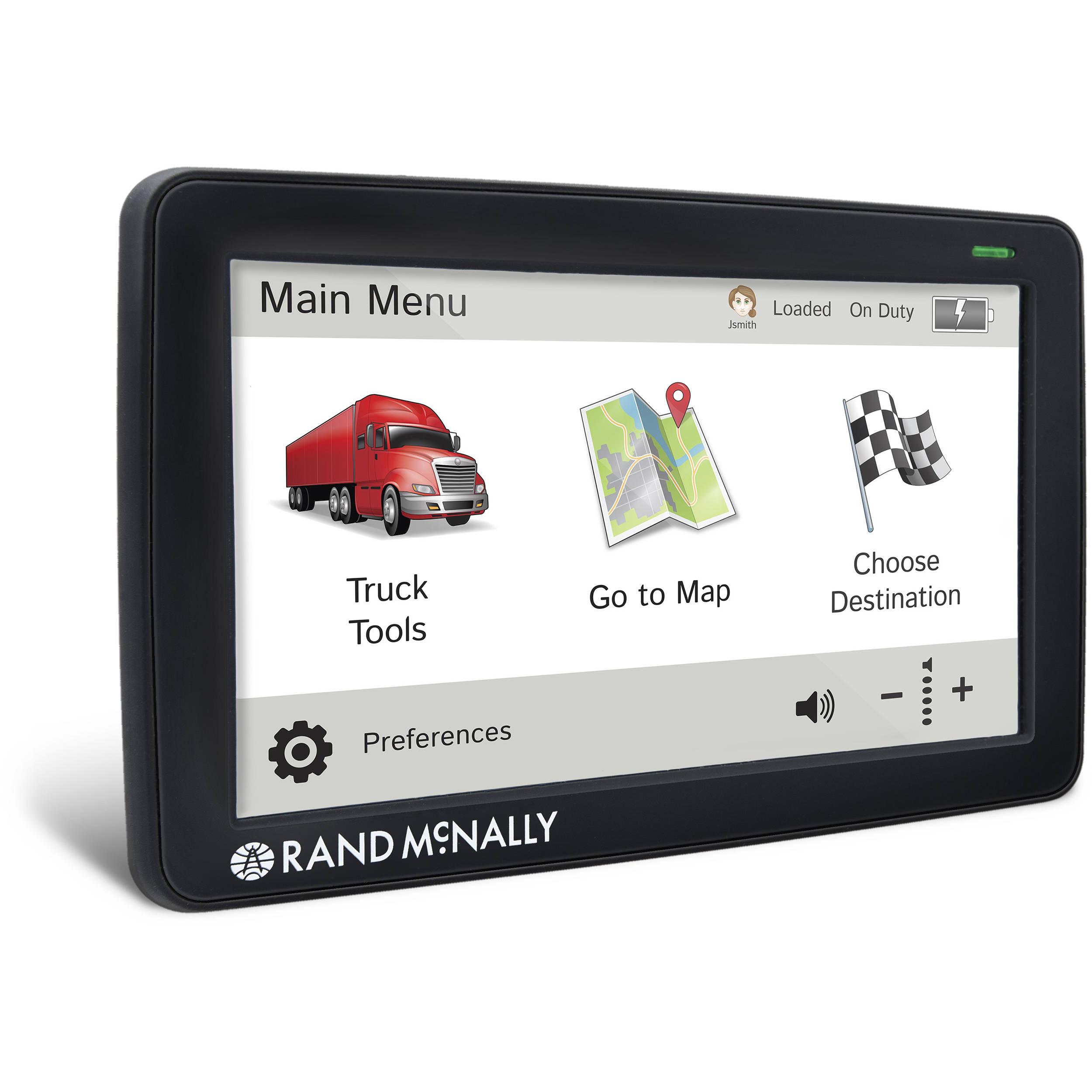 Rand Mcnally Gps >> Rand Mcnally Intelliroute Tnd 730 Lm Gps Device