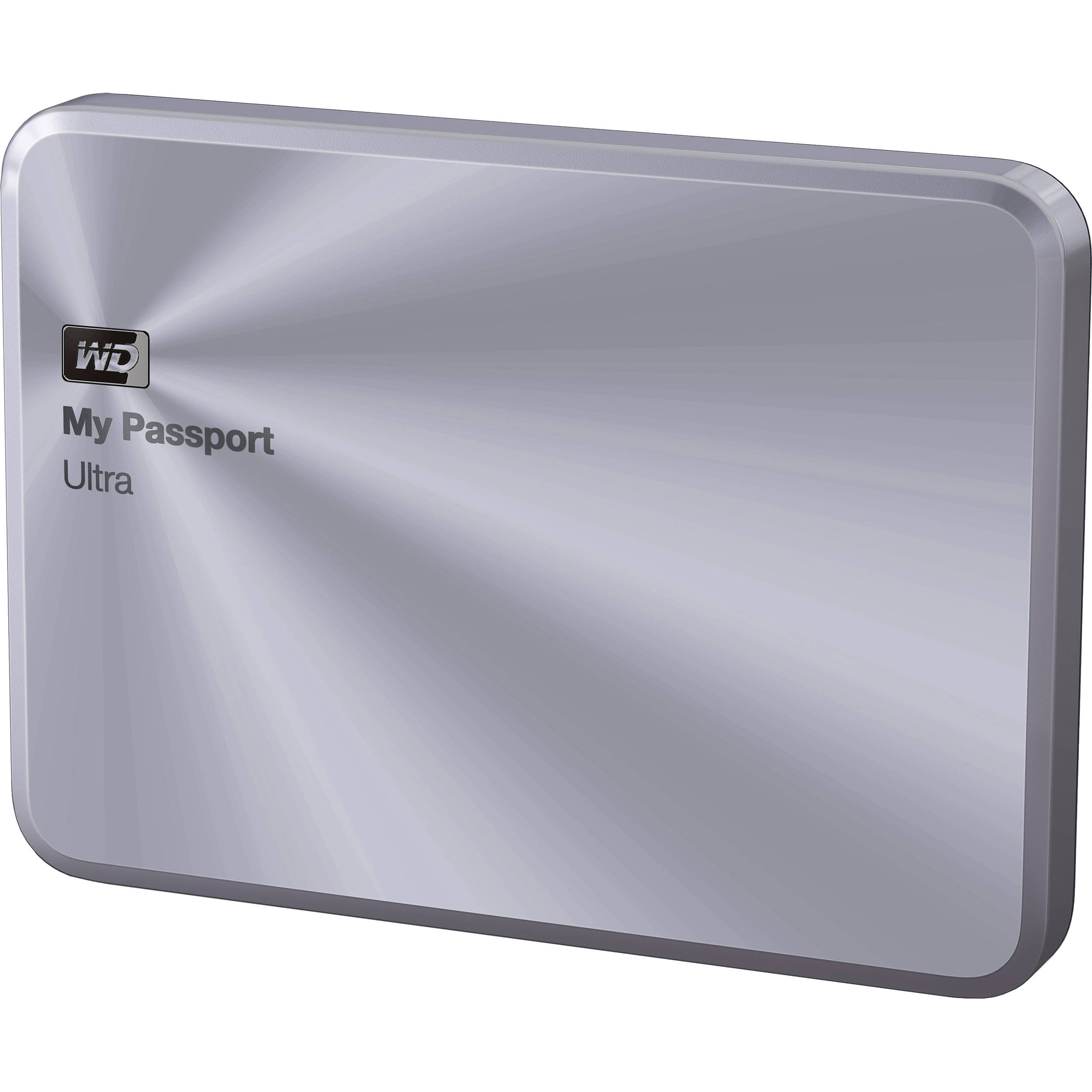 WD 4TB My Passport Ultra Metal Edition (Silver)