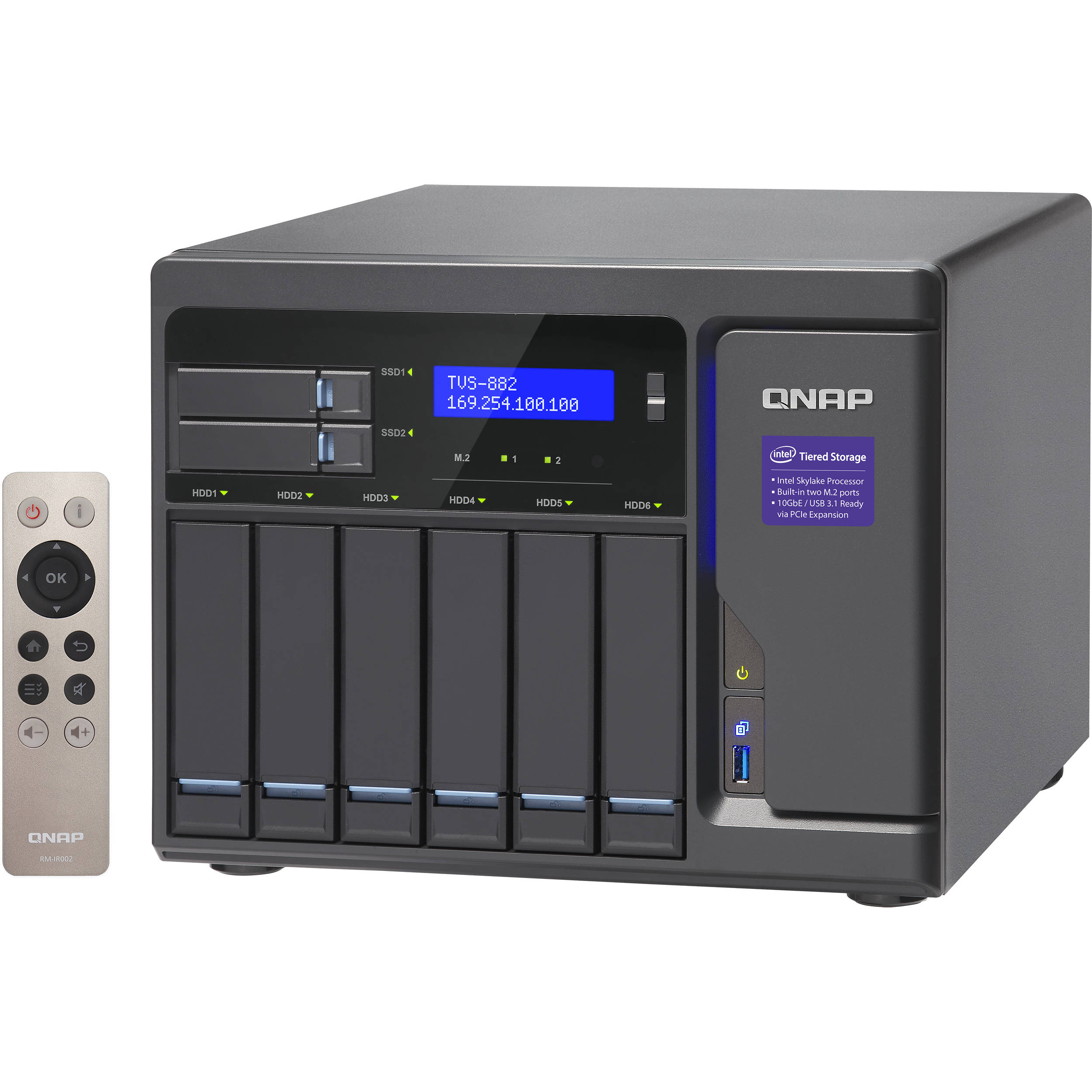 QNAP TVS-882 8-Bay NAS Enclosure
