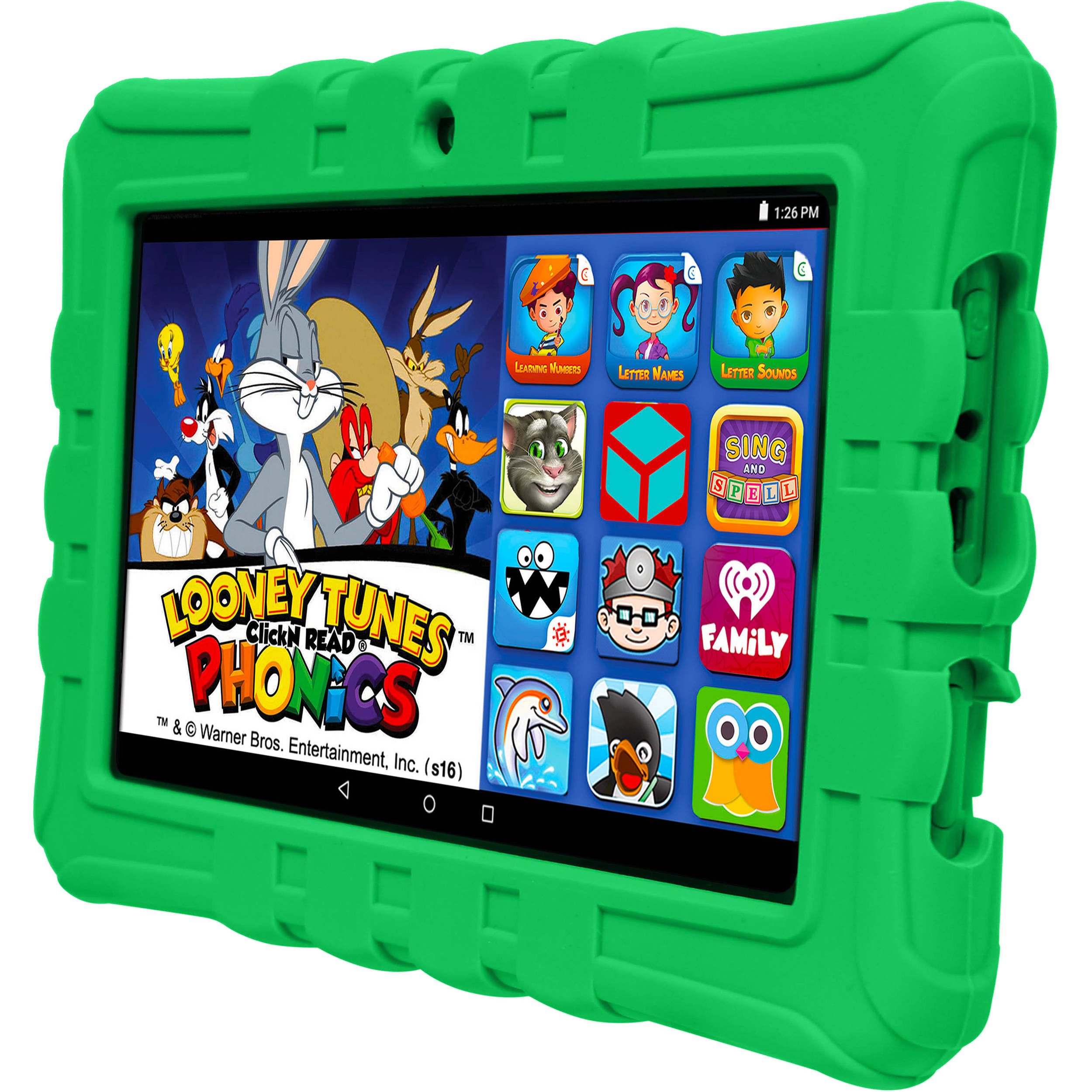 "8/"" 16Gb Android Epik Learning Tablet For children games Pre Installed /& cover"
