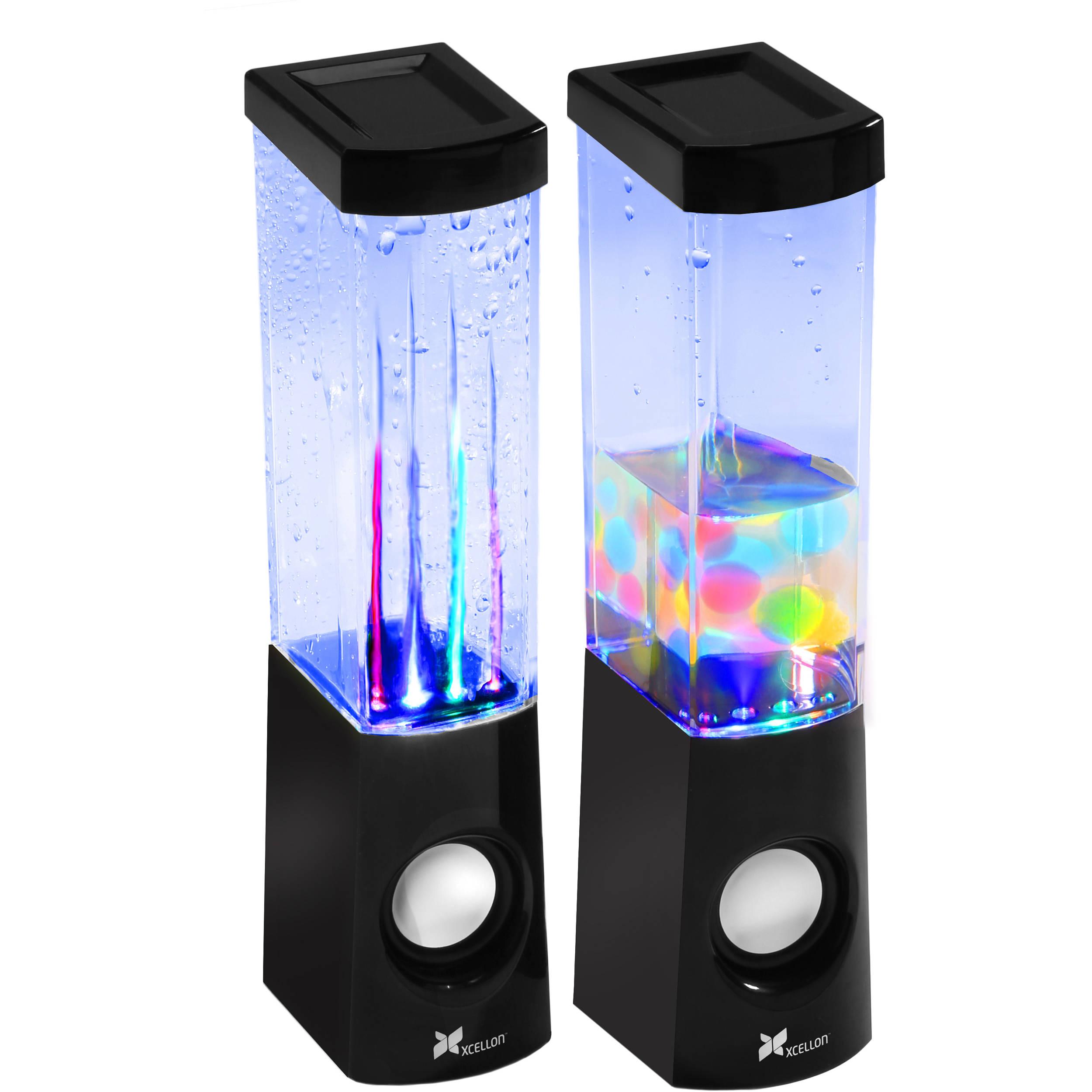 Xcellon 2-in-1 Dancing Water Speakers