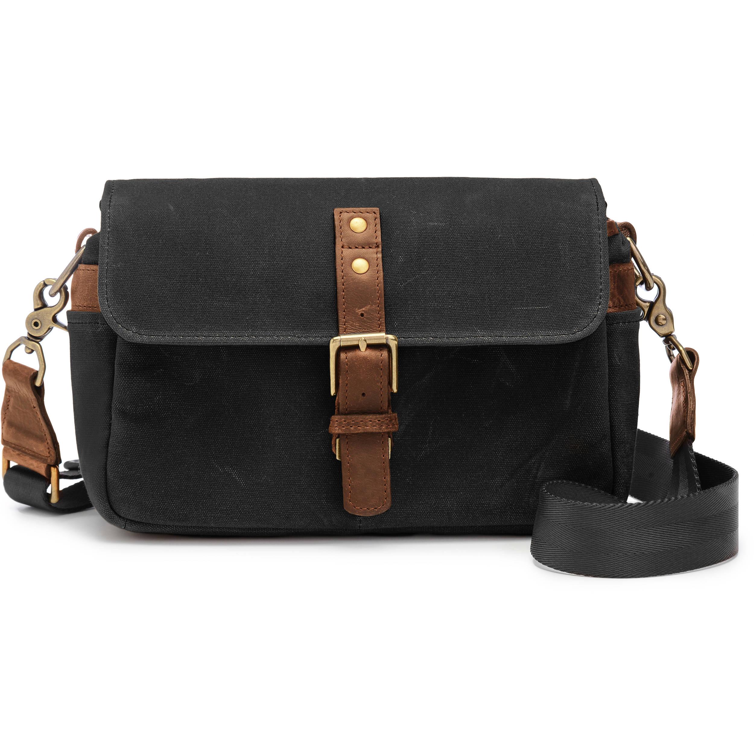 Ona Bowery Camera Bag Canvas Black
